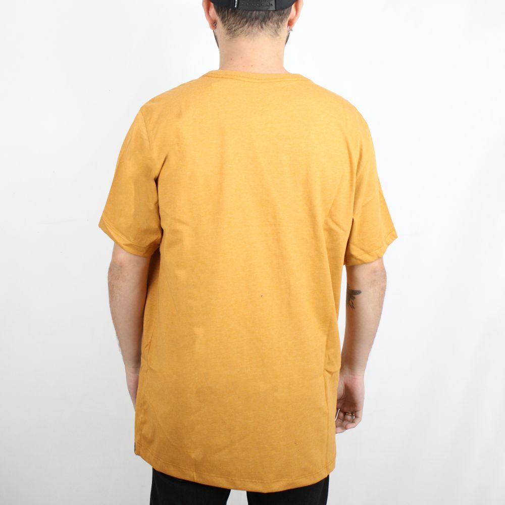 Camiseta Hurley O&O Solid Caramelo