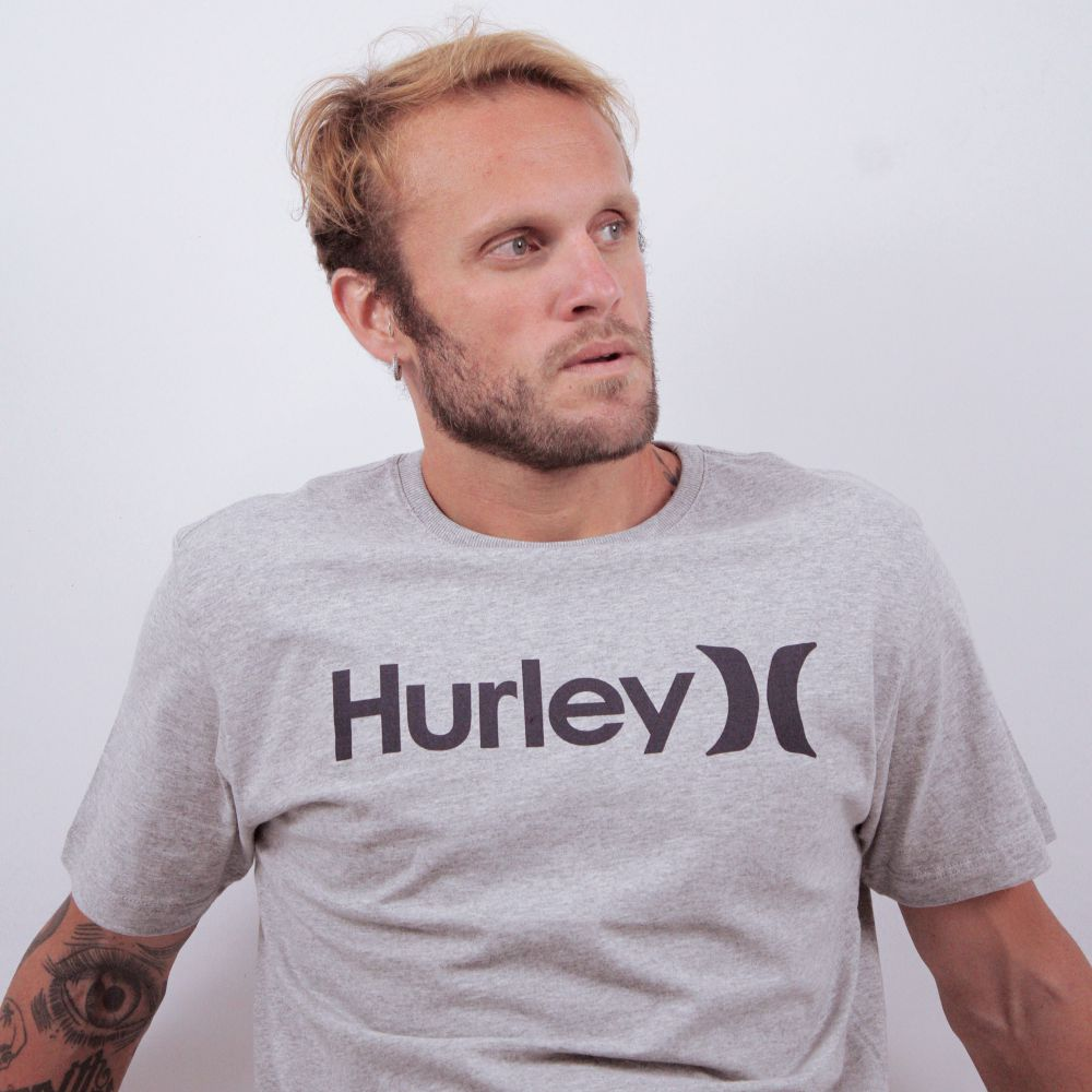 Camiseta Hurley O&O Solid Cinza
