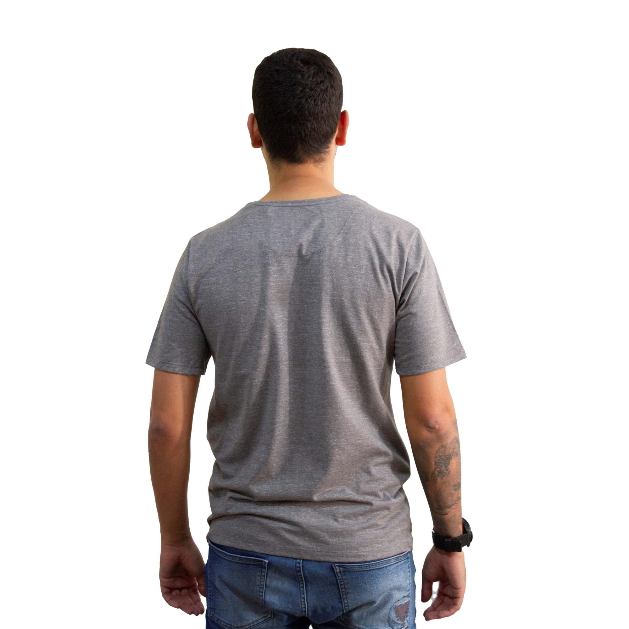 Camiseta Hurley Premium Logo Cinza