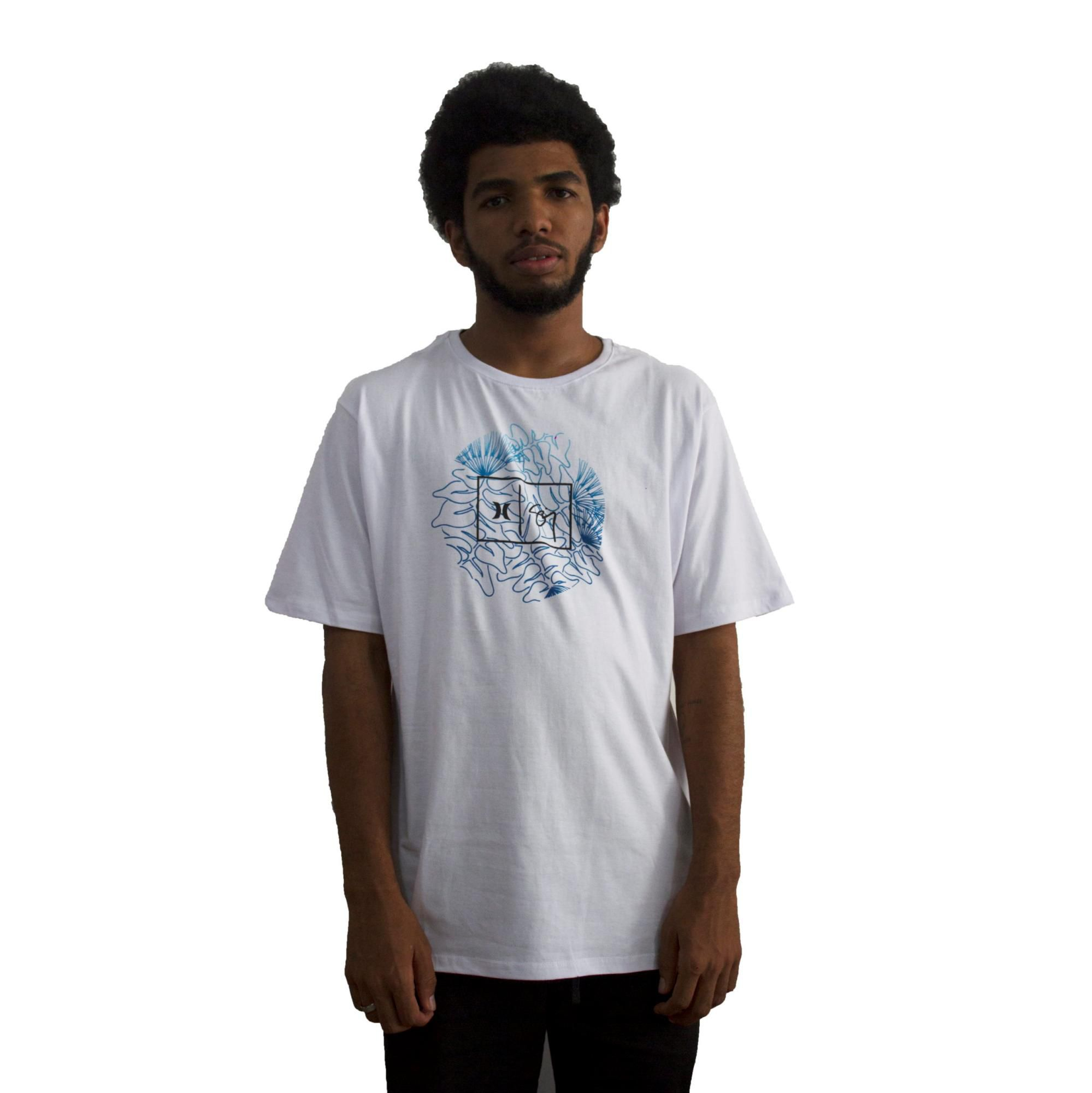 Camiseta Hurley Sig Zane Branca