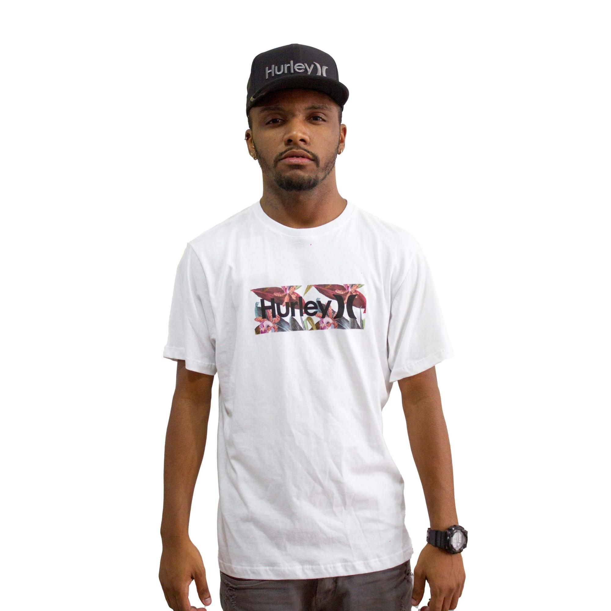 Camiseta Hurley Silk Branca