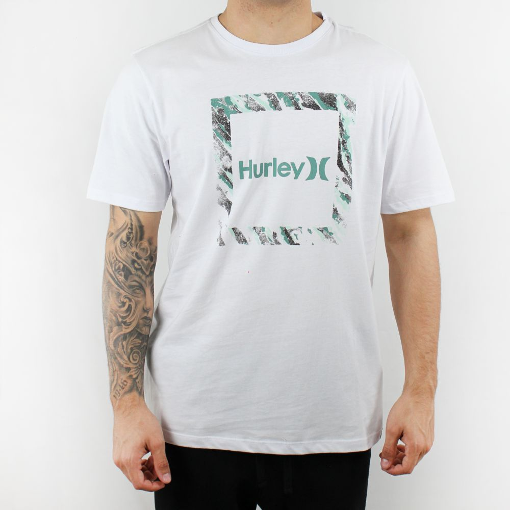 Camiseta Hurley Silk Frame Branca