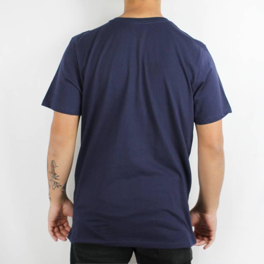Camiseta Hurley Silk Frame Marinho