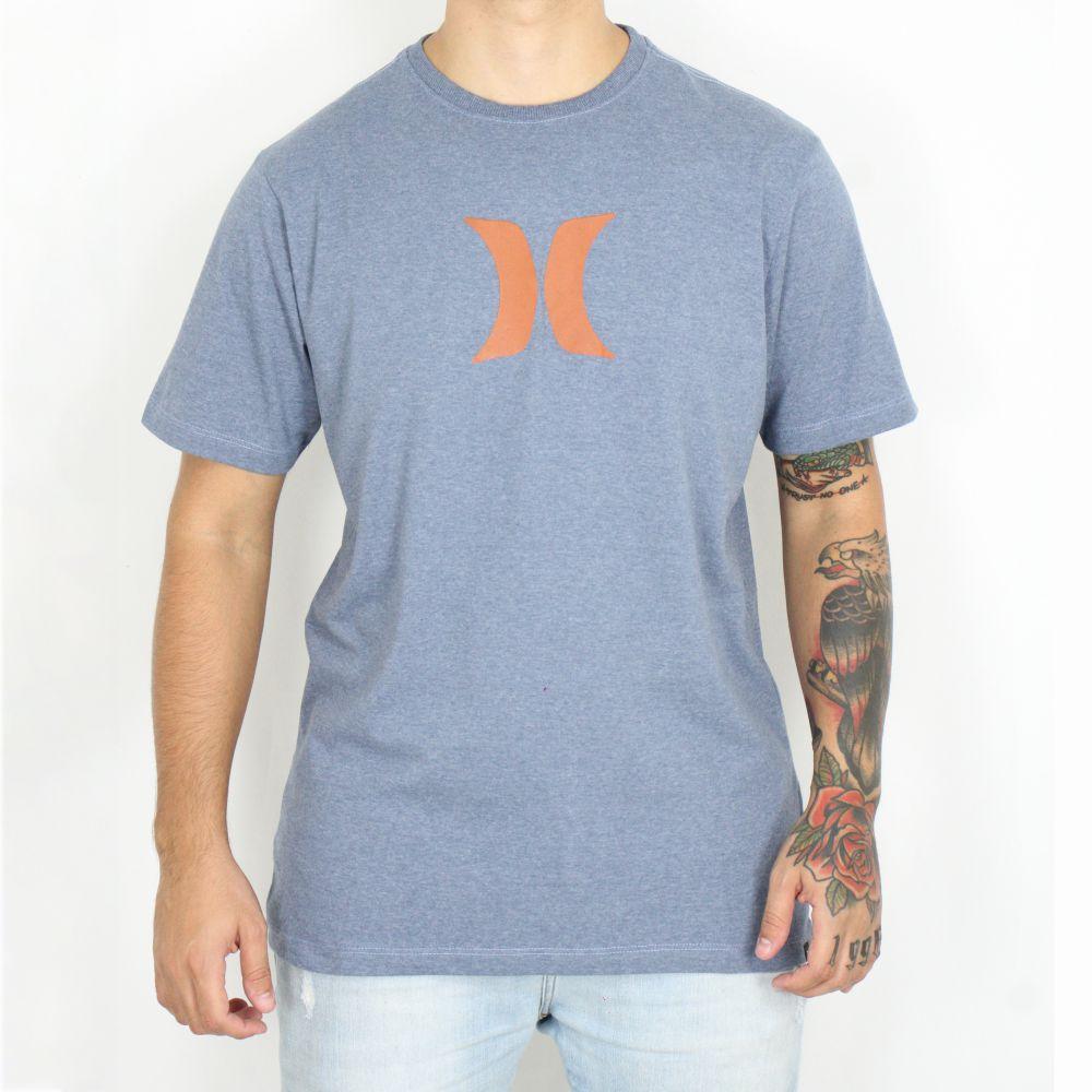 Camiseta Hurley Silk Icon Azul