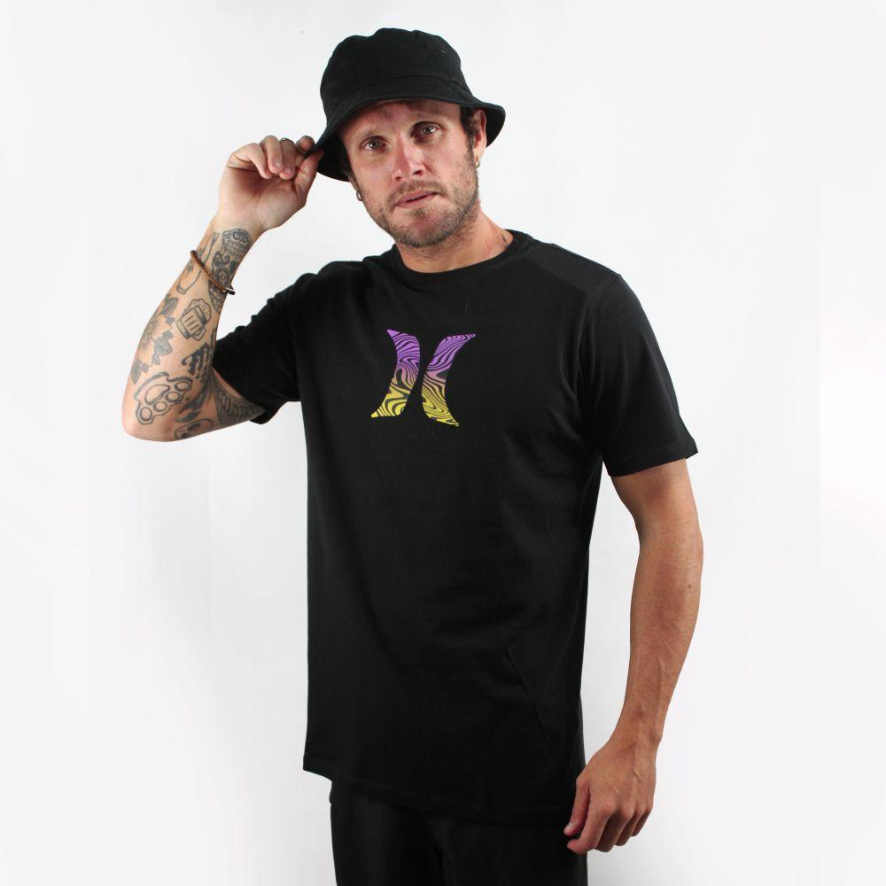 Camiseta Hurley Silk Icon Effect Preta