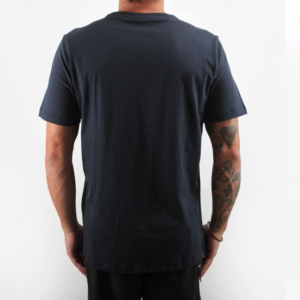 Camiseta Hurley Silk Logo Surf Marinho