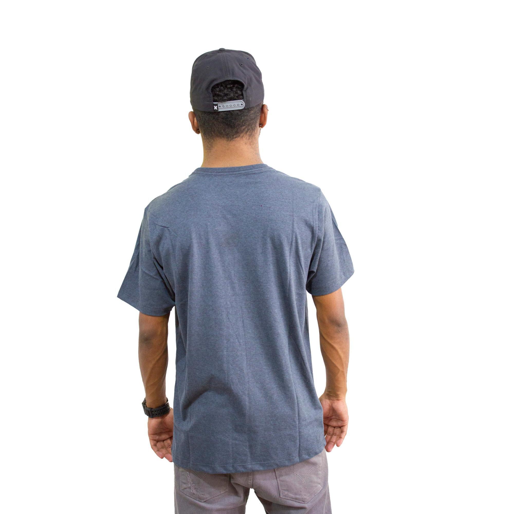 Camiseta Hurley Silk Mescla Escuro