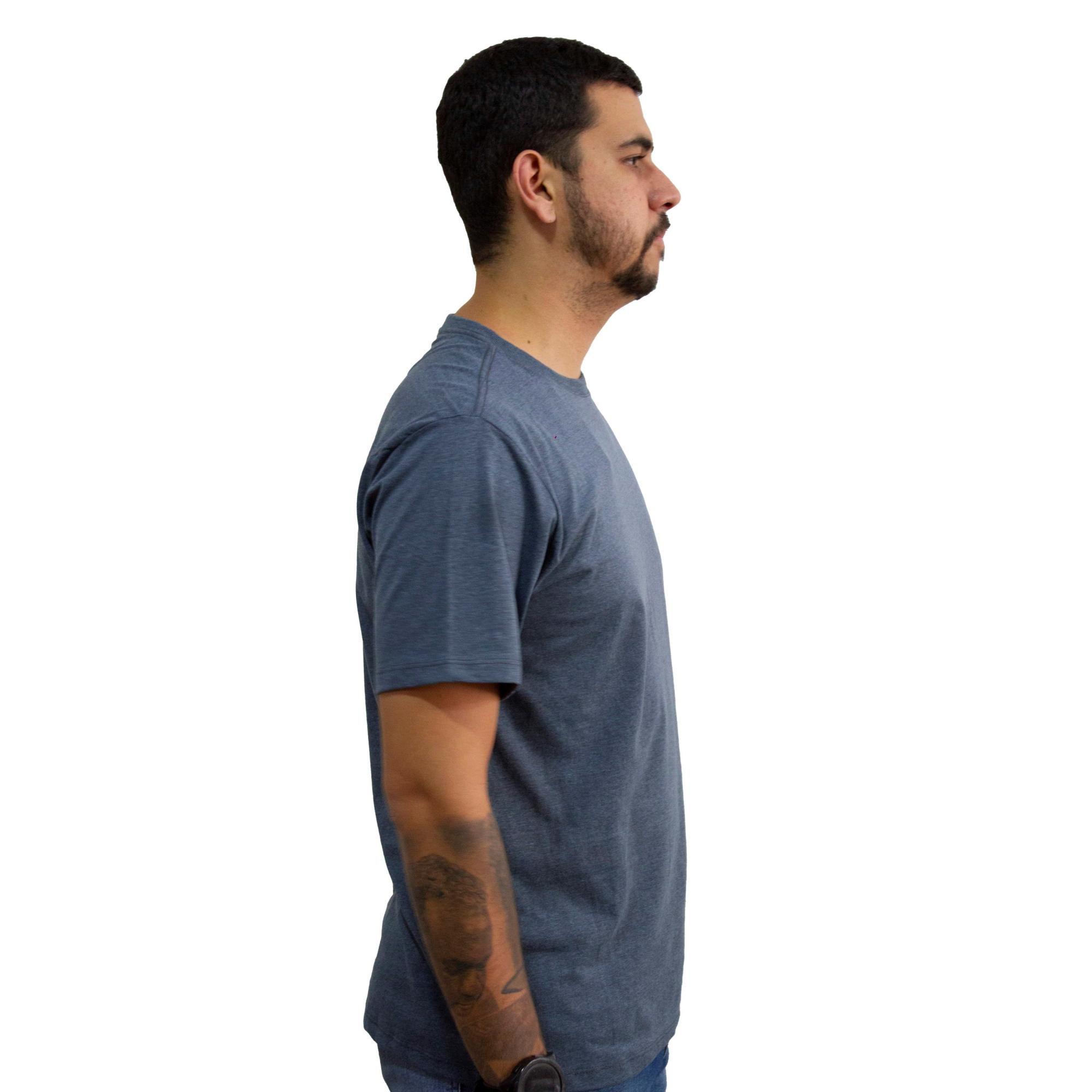 Camiseta Hurley Silk Mini Mescla Escuro