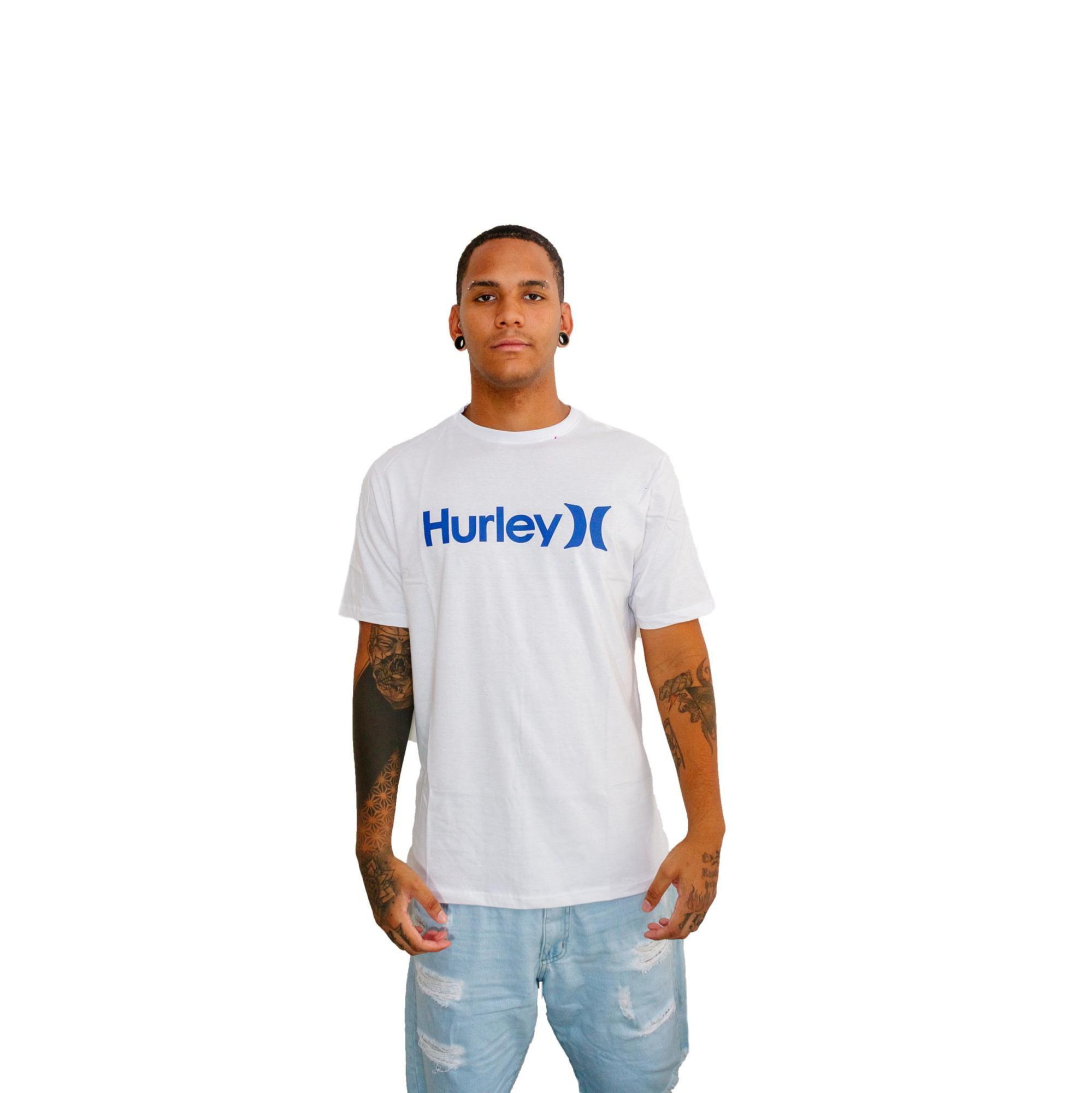 Camiseta Hurley Silk O&O Branca