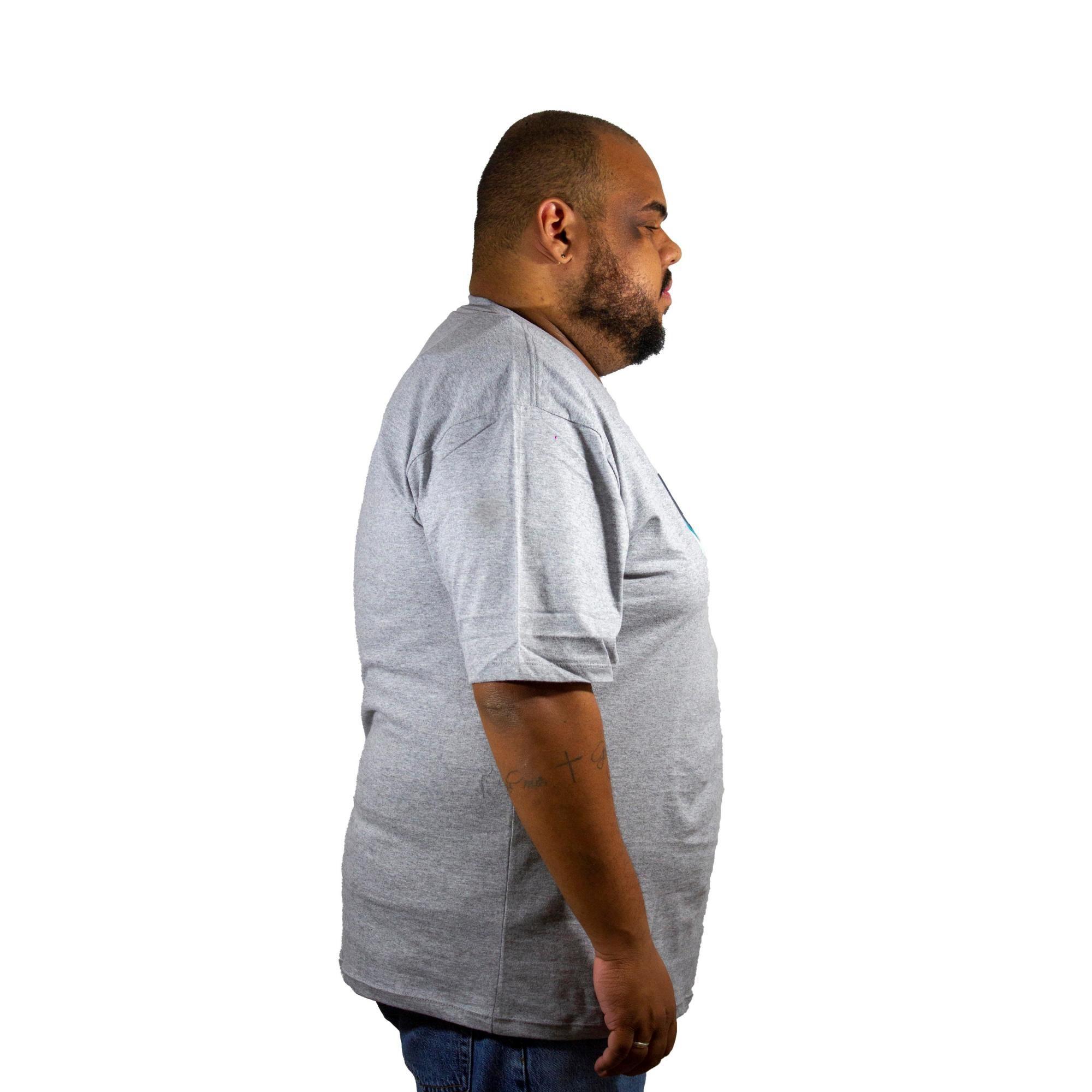 Camiseta Hurley Silk Plus Size Mescla