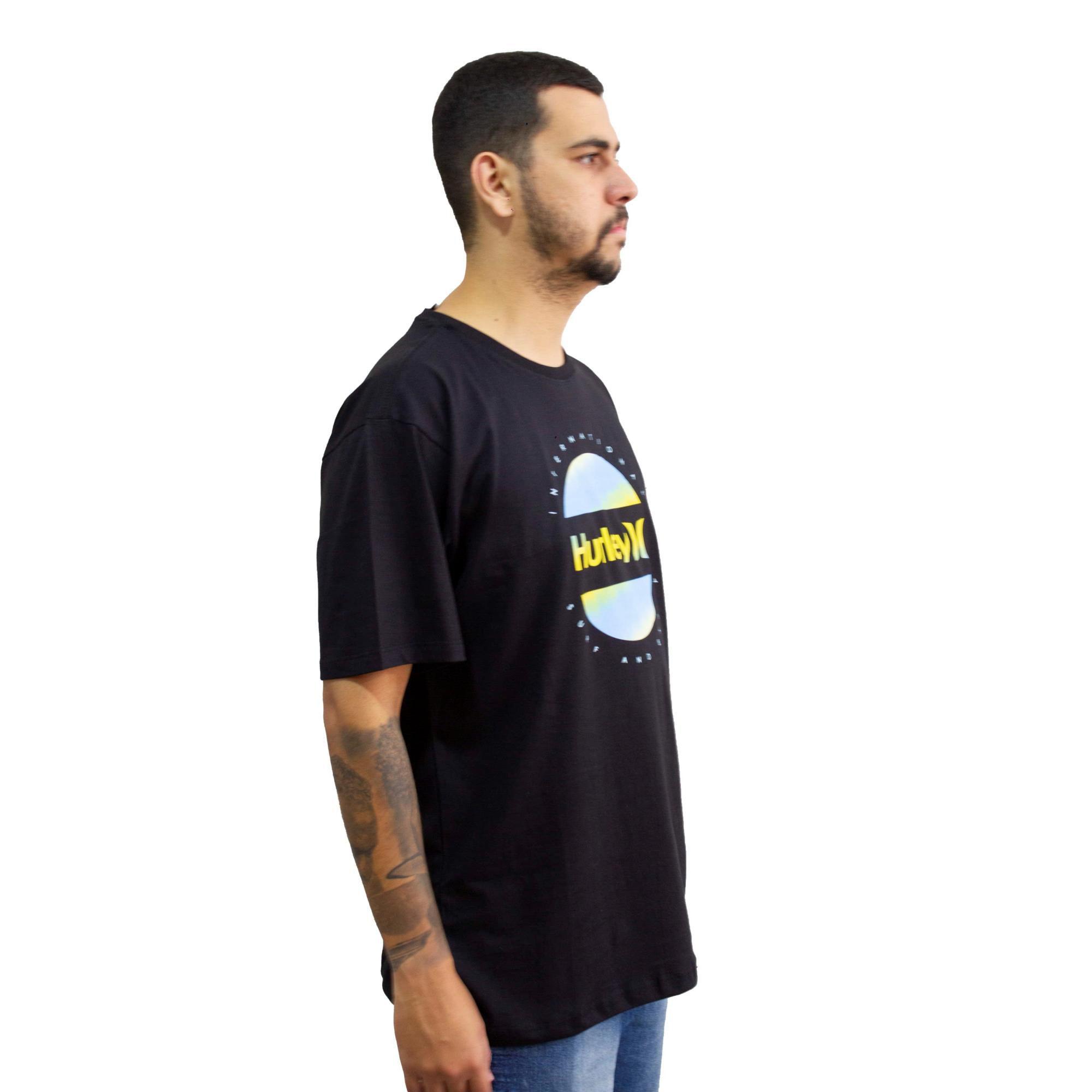 Camiseta Hurley Silk Preta