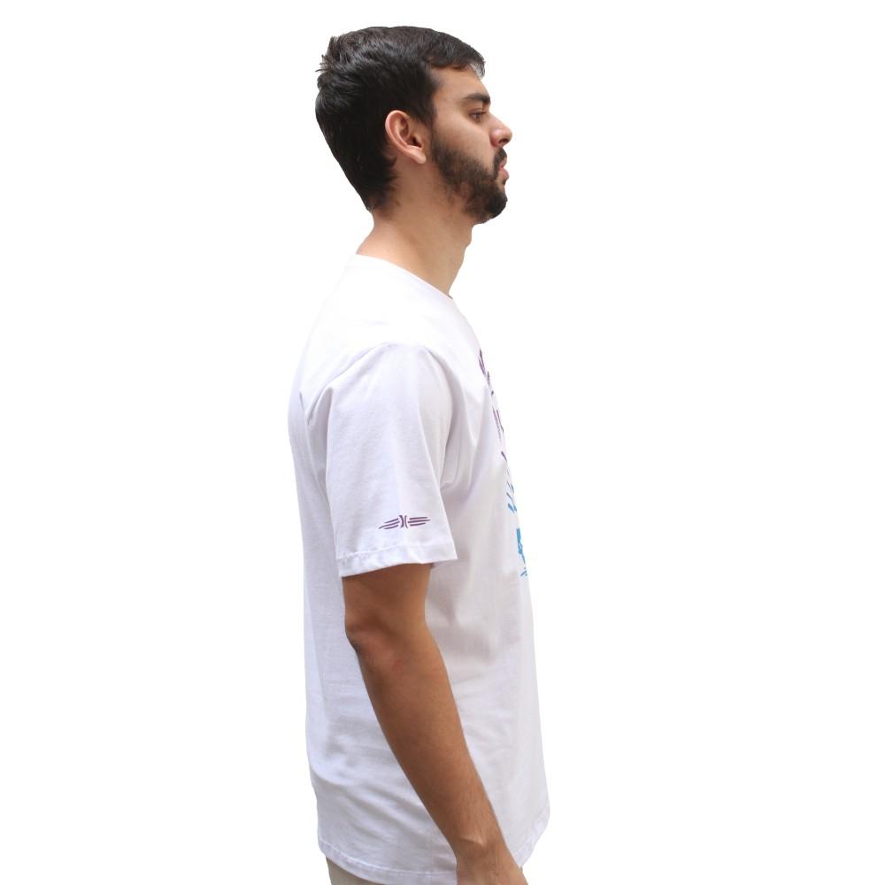 Camiseta Hurley Silk Skull White