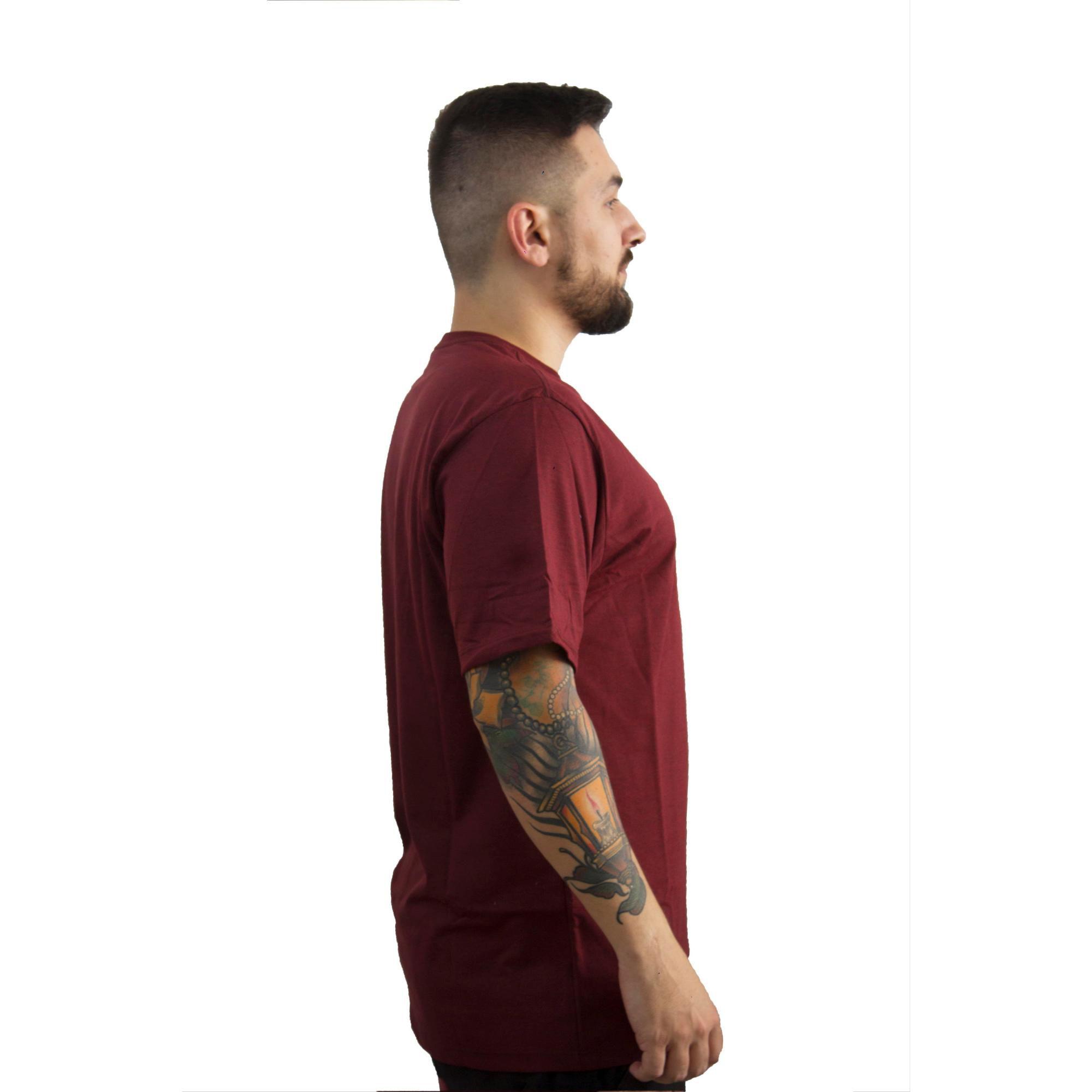 Camiseta Hurley Vermelho Mescla