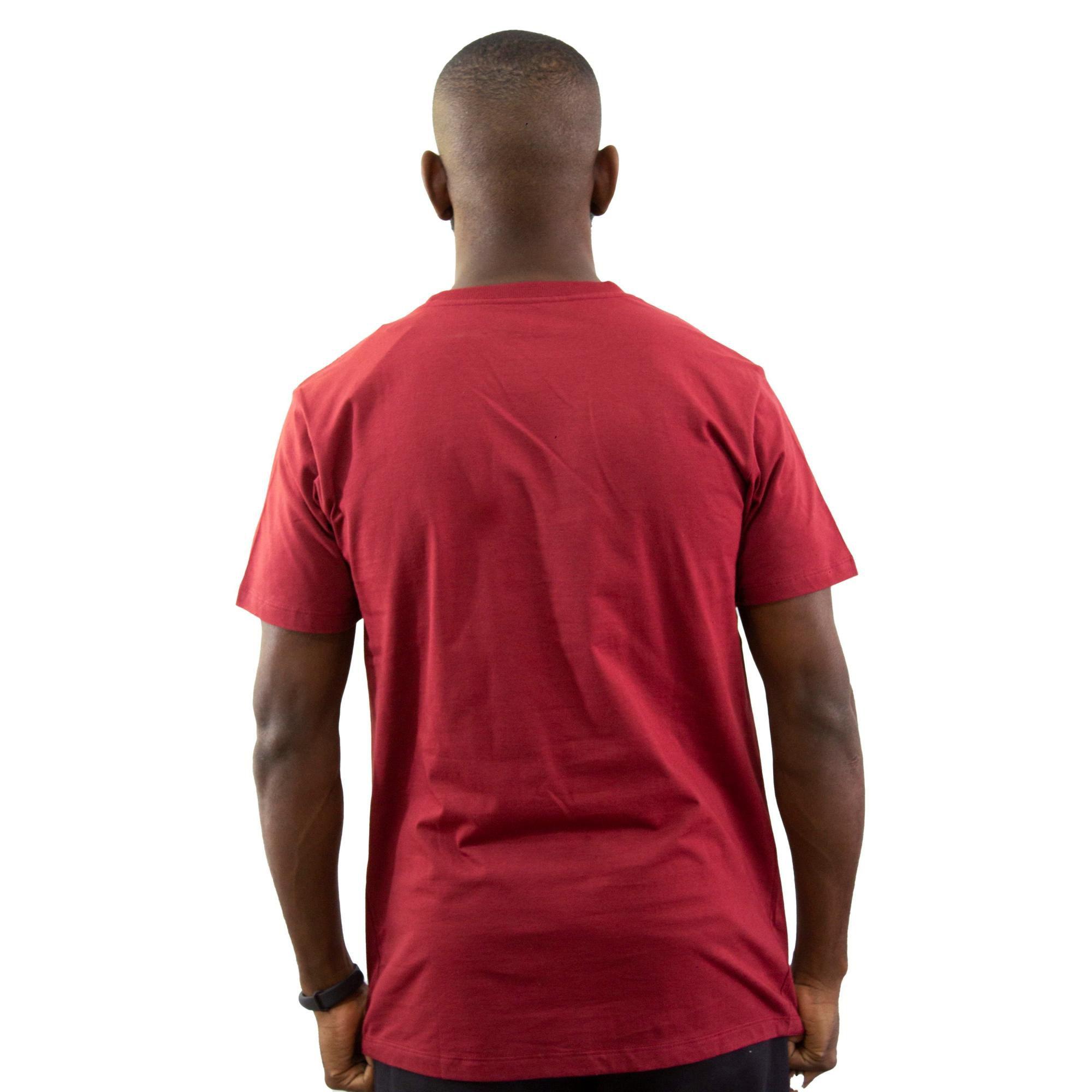 Camiseta New Era Básica Vermelha