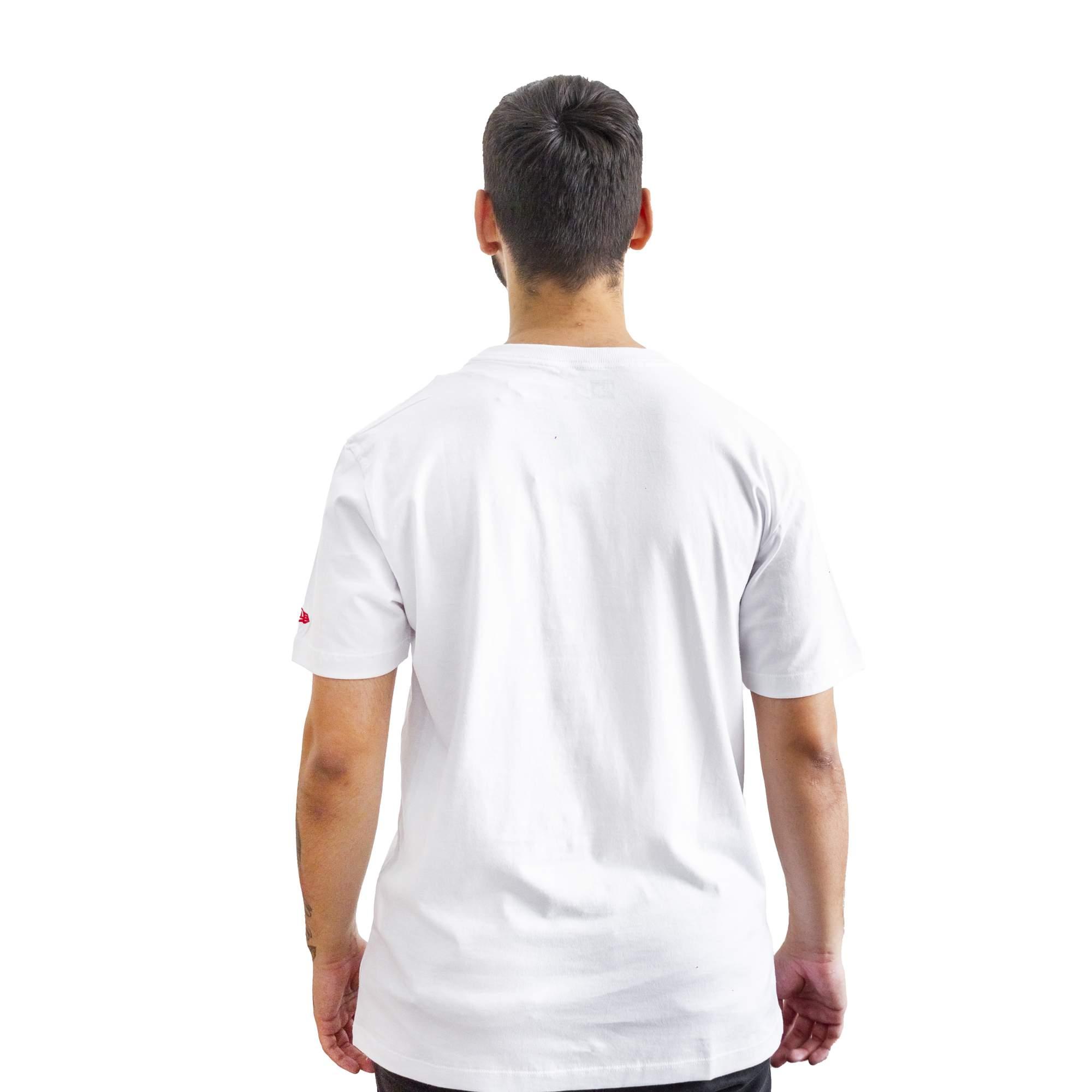 Camiseta New Era Beisibol White