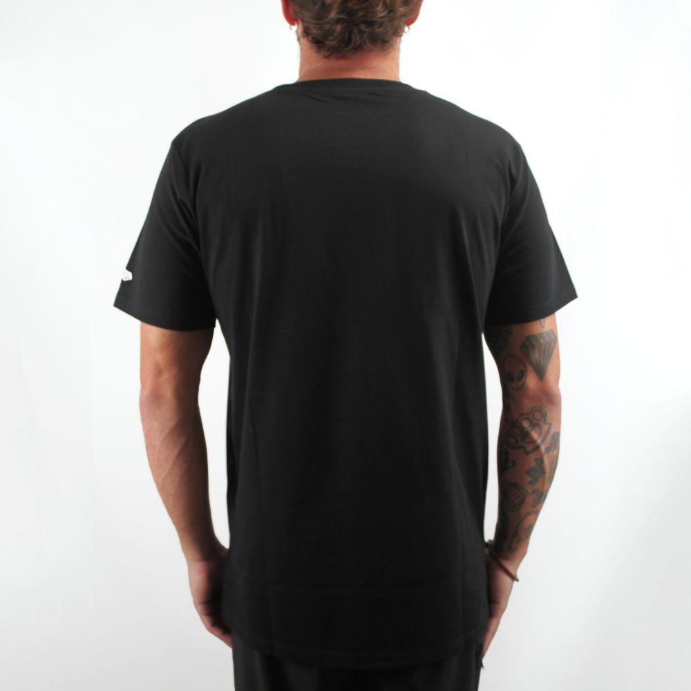 Camiseta New Era Brooklyn Nets Preta
