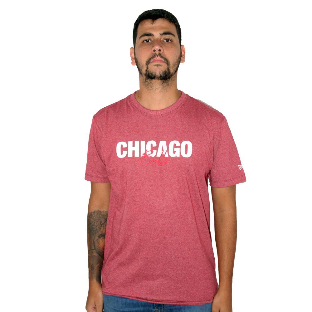 Camiseta New Era Chicago Bulls Smallsign