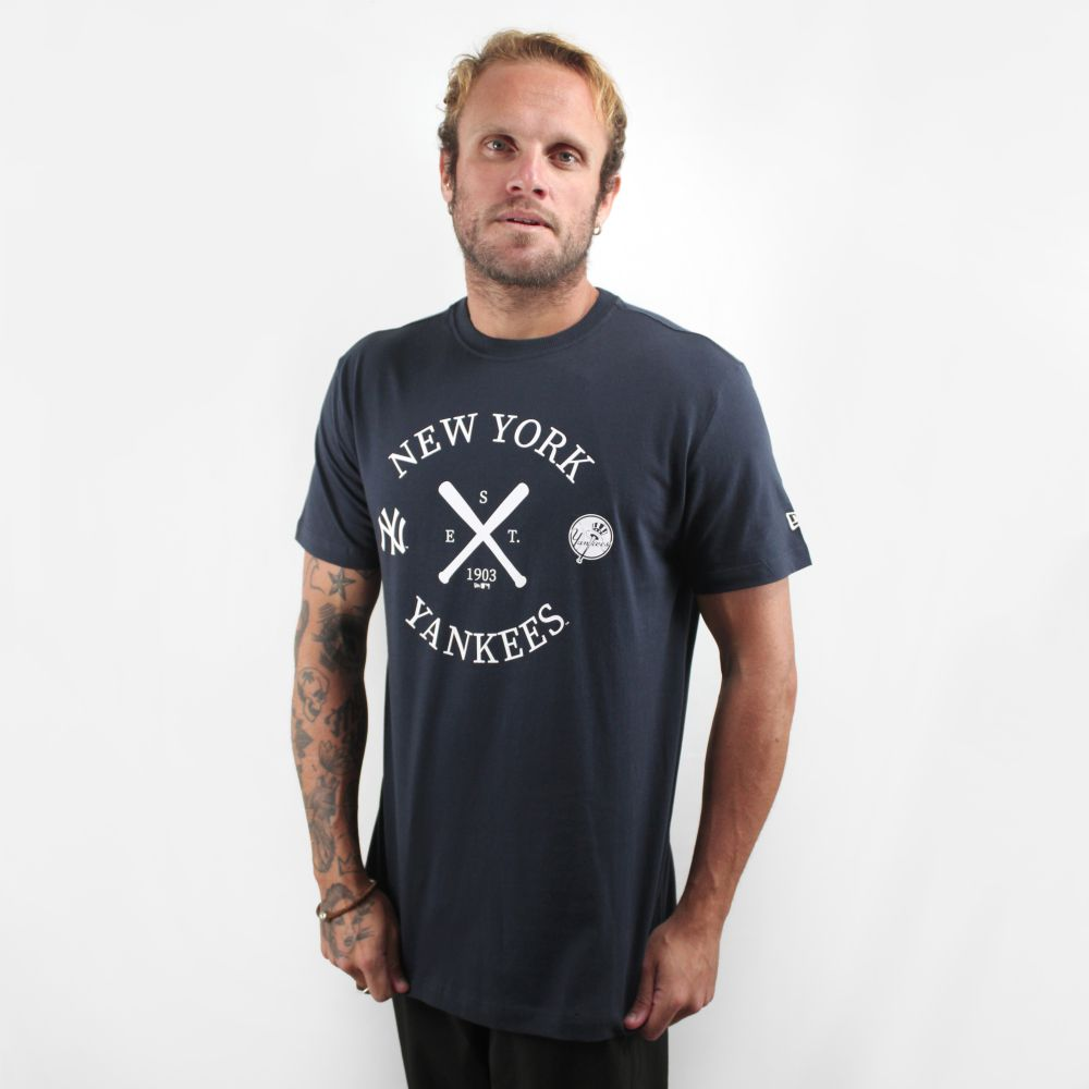 Camiseta New Era College New York Yankees