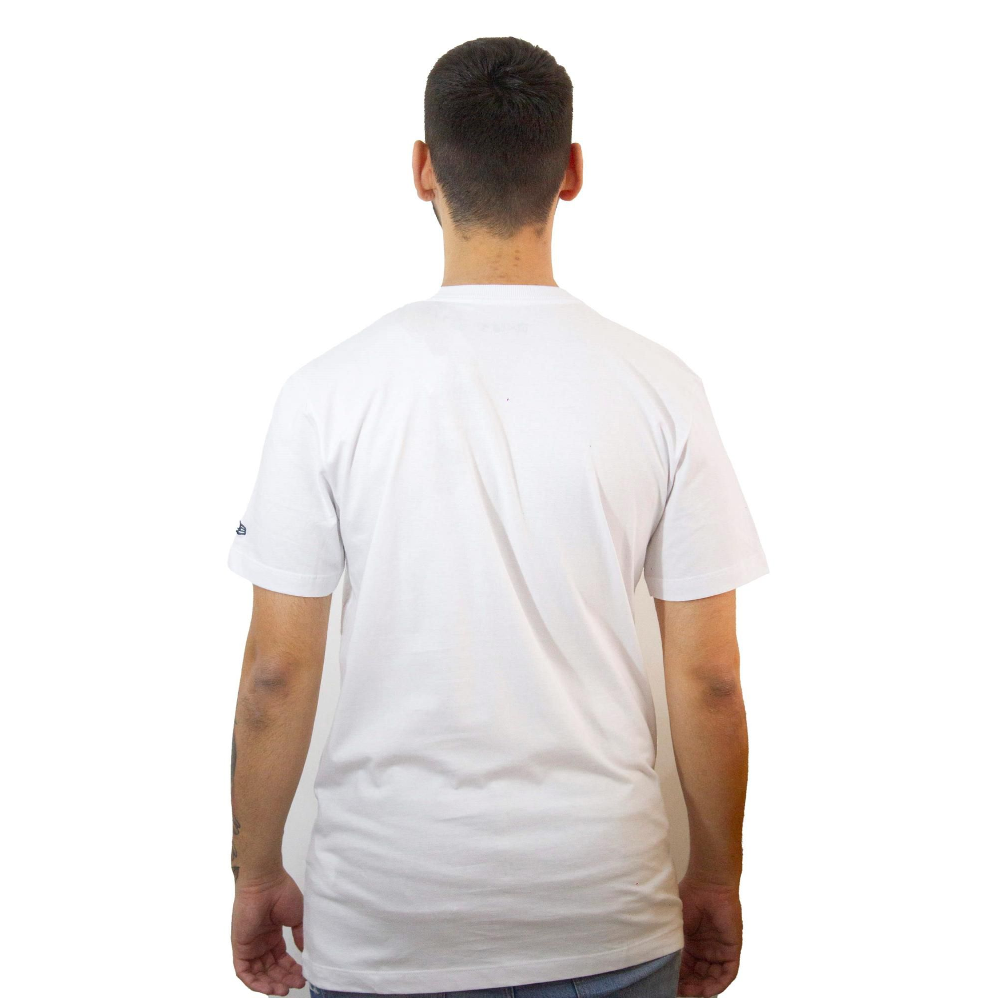 Camiseta New Era Essentials NY Branca