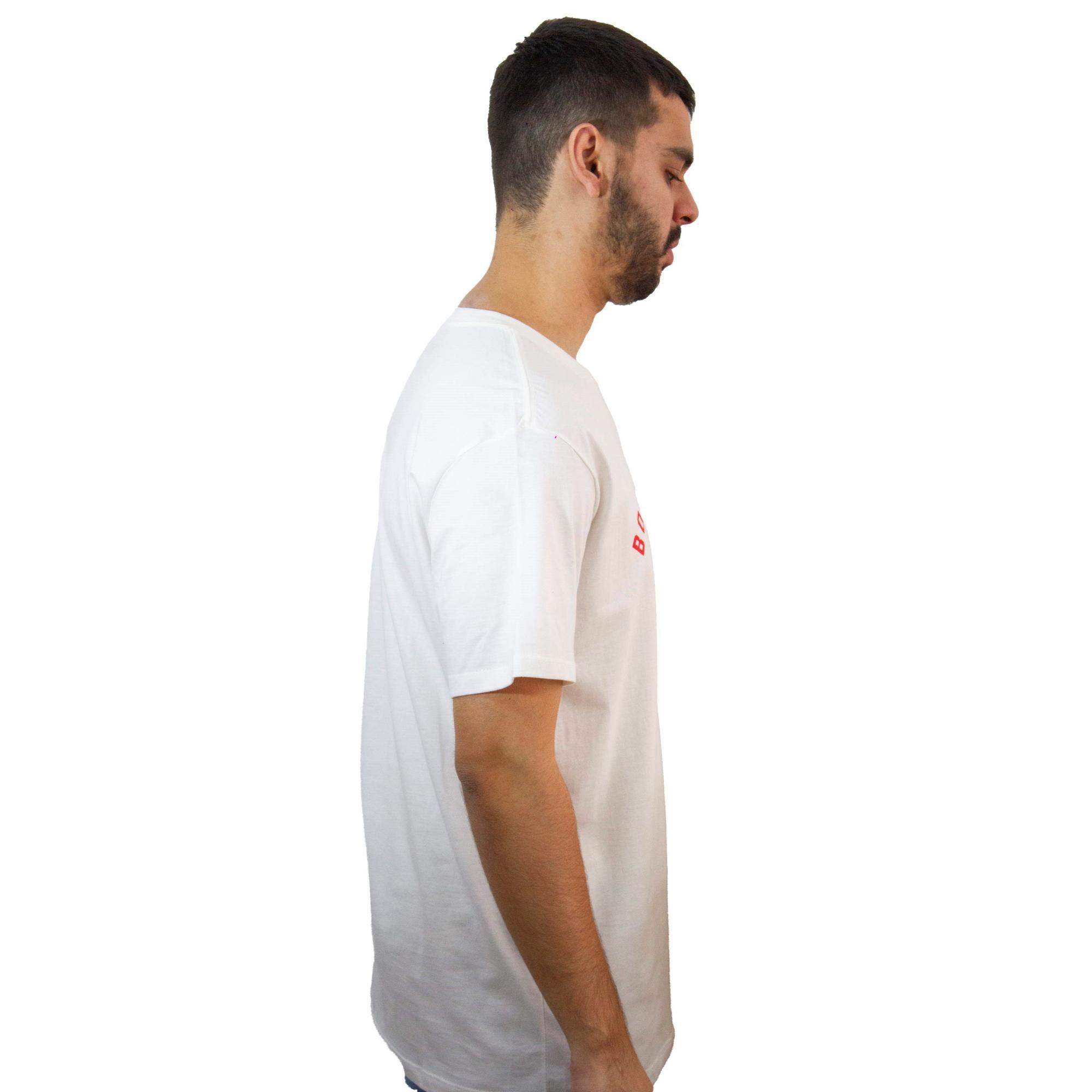 Camiseta New Era Essentials Sox Off White