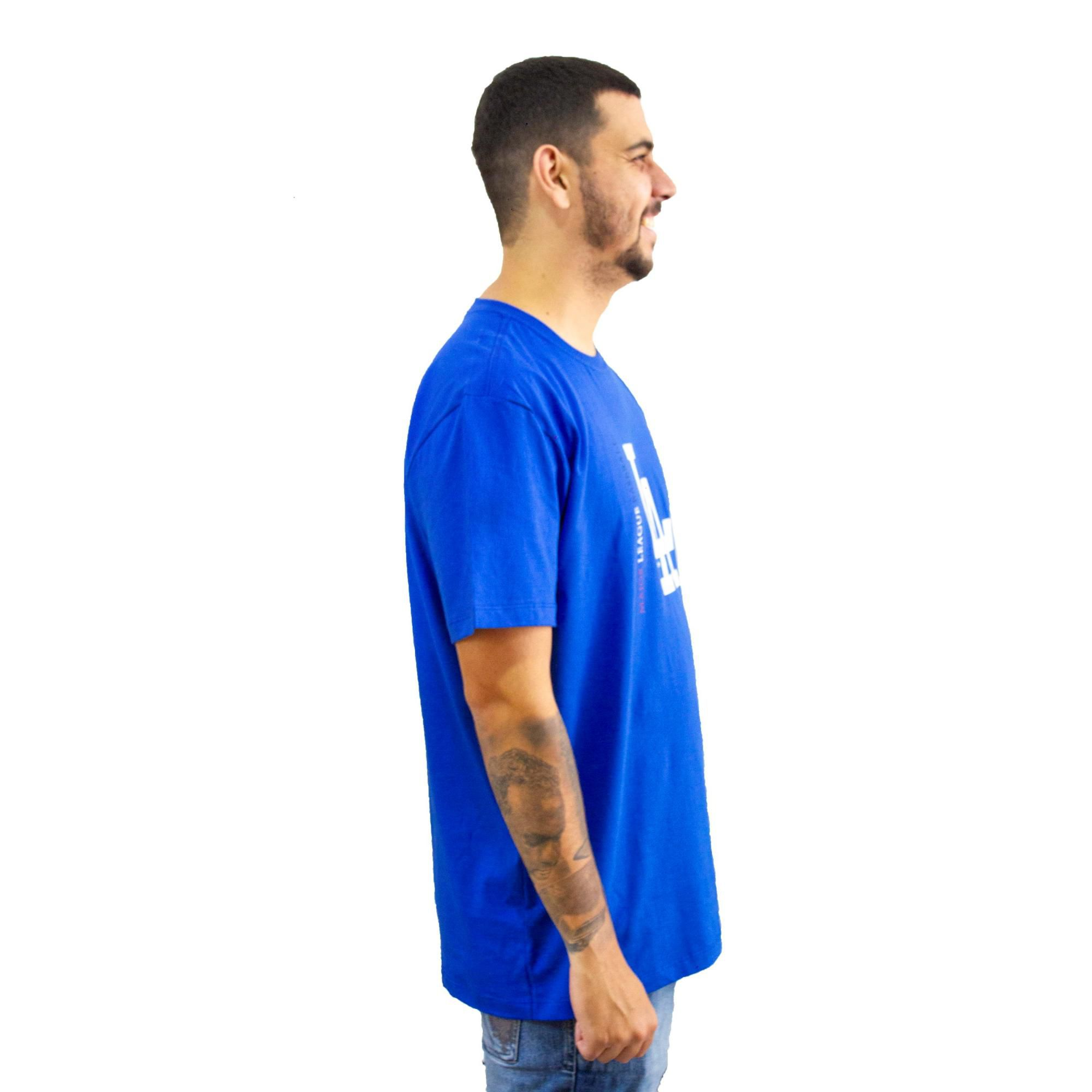 Camiseta New Era L A Azul Royal