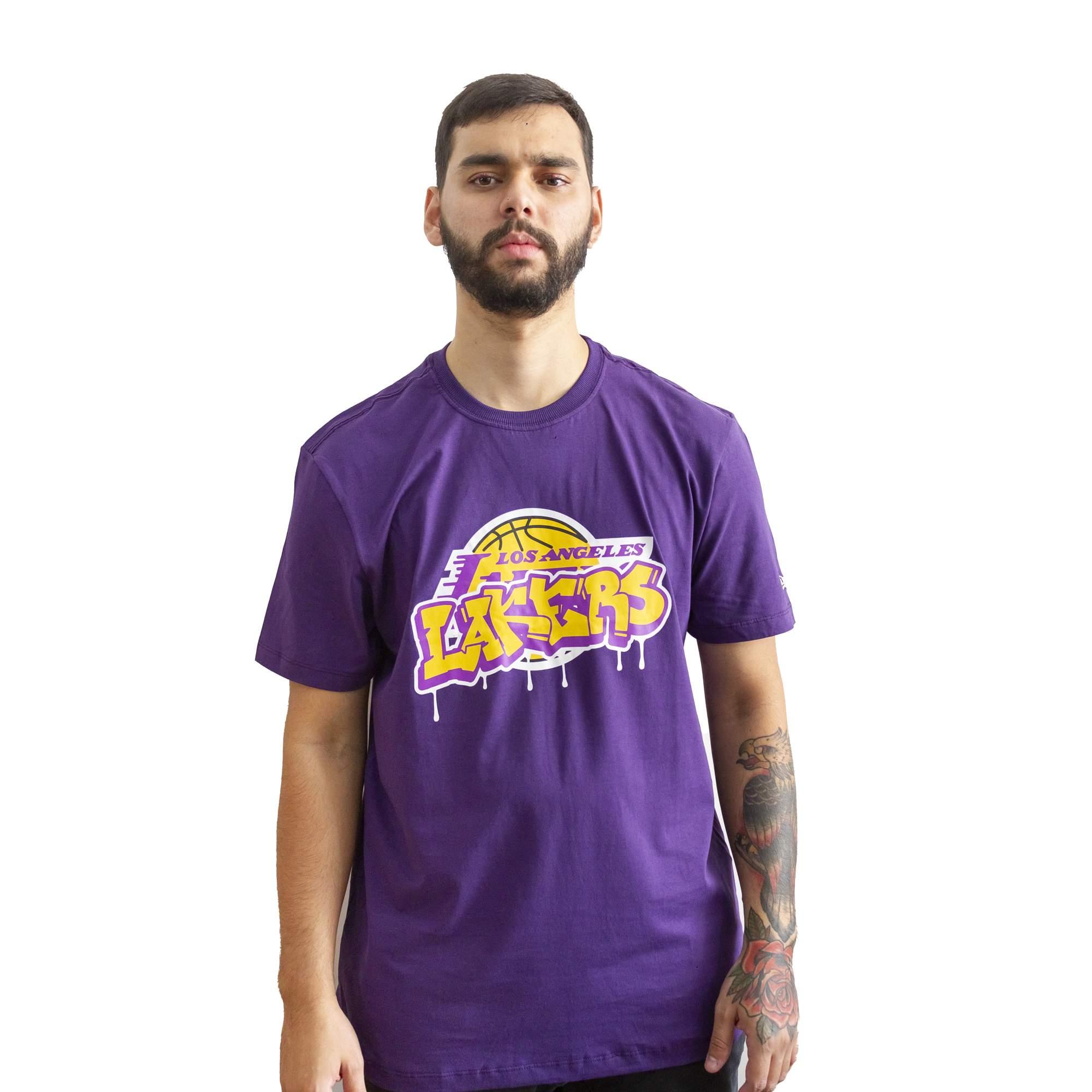 Camiseta New Era Los Angeles Lakers
