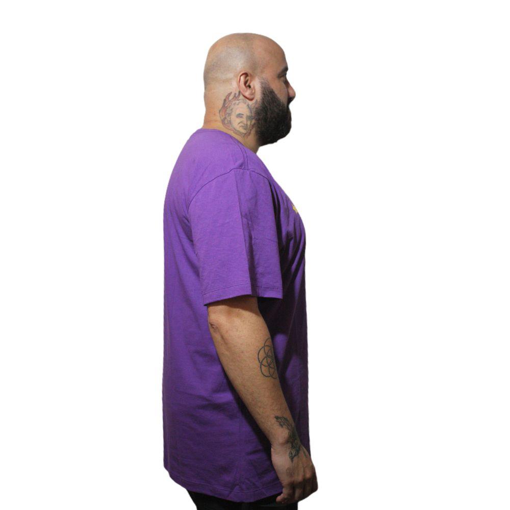 Camiseta New Era Los Angeles Lakers Plus Size