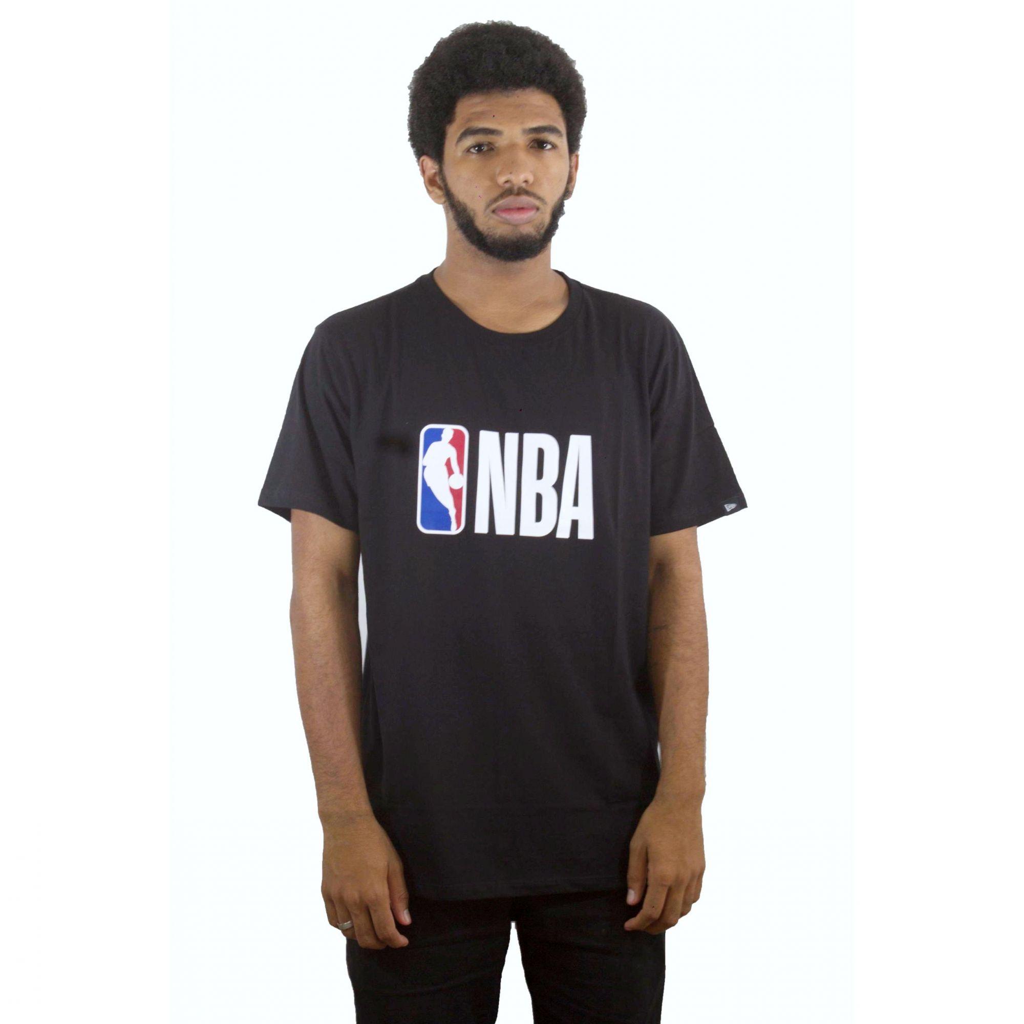 Camiseta New Era NBA Preta