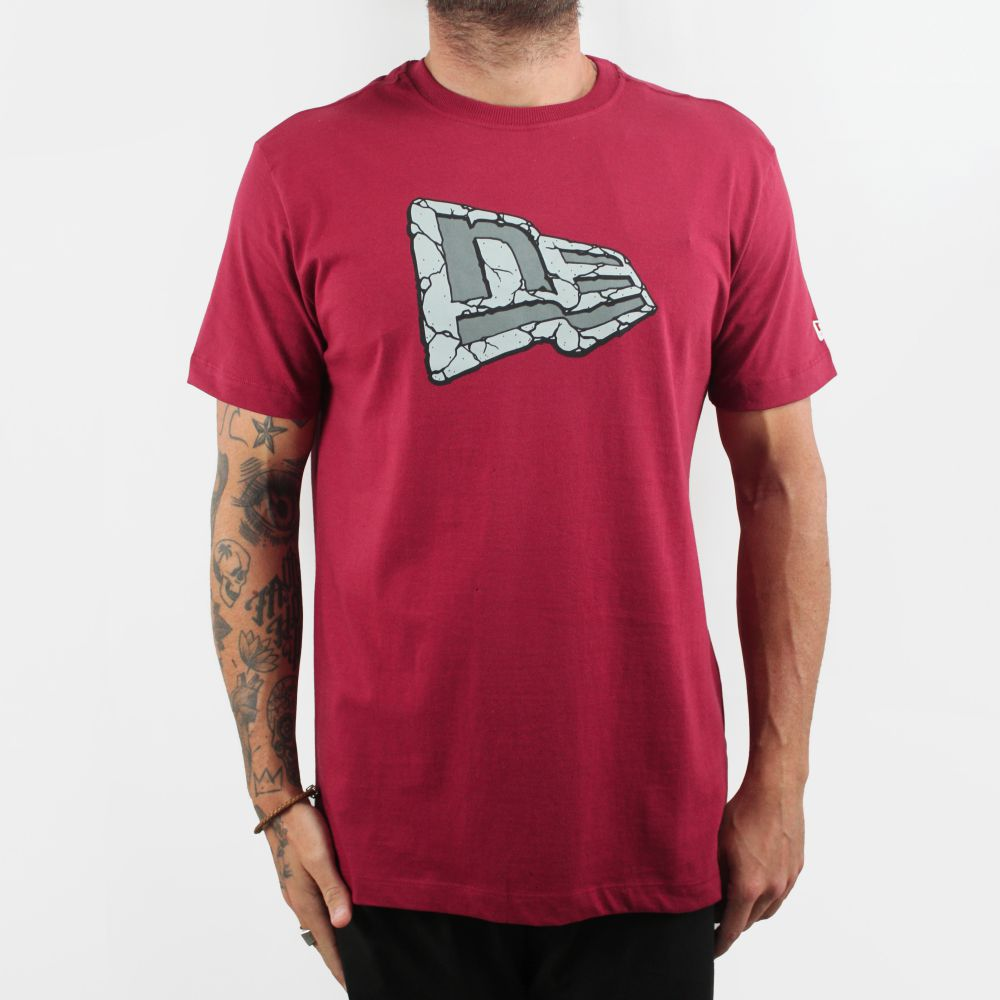 Camiseta New Era NE Vermelha