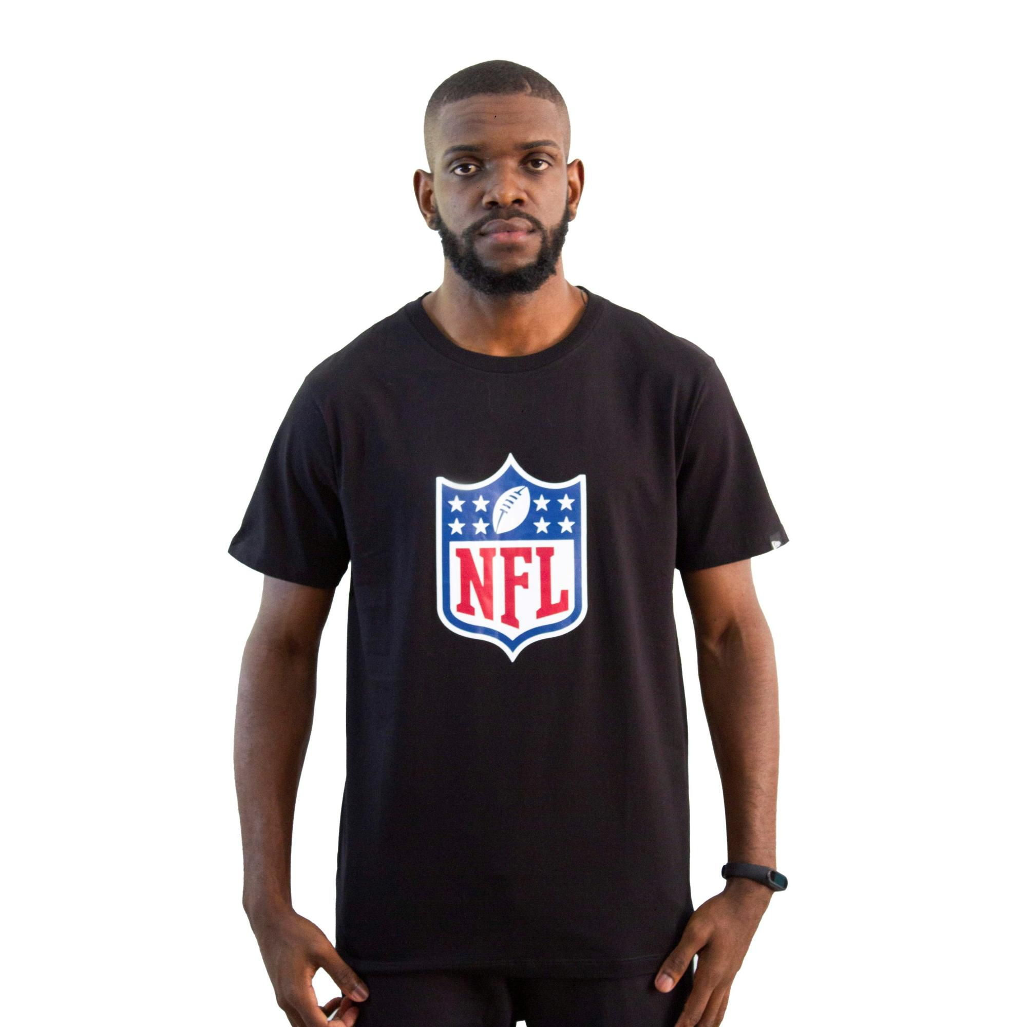 Camiseta New Era NFL Preta