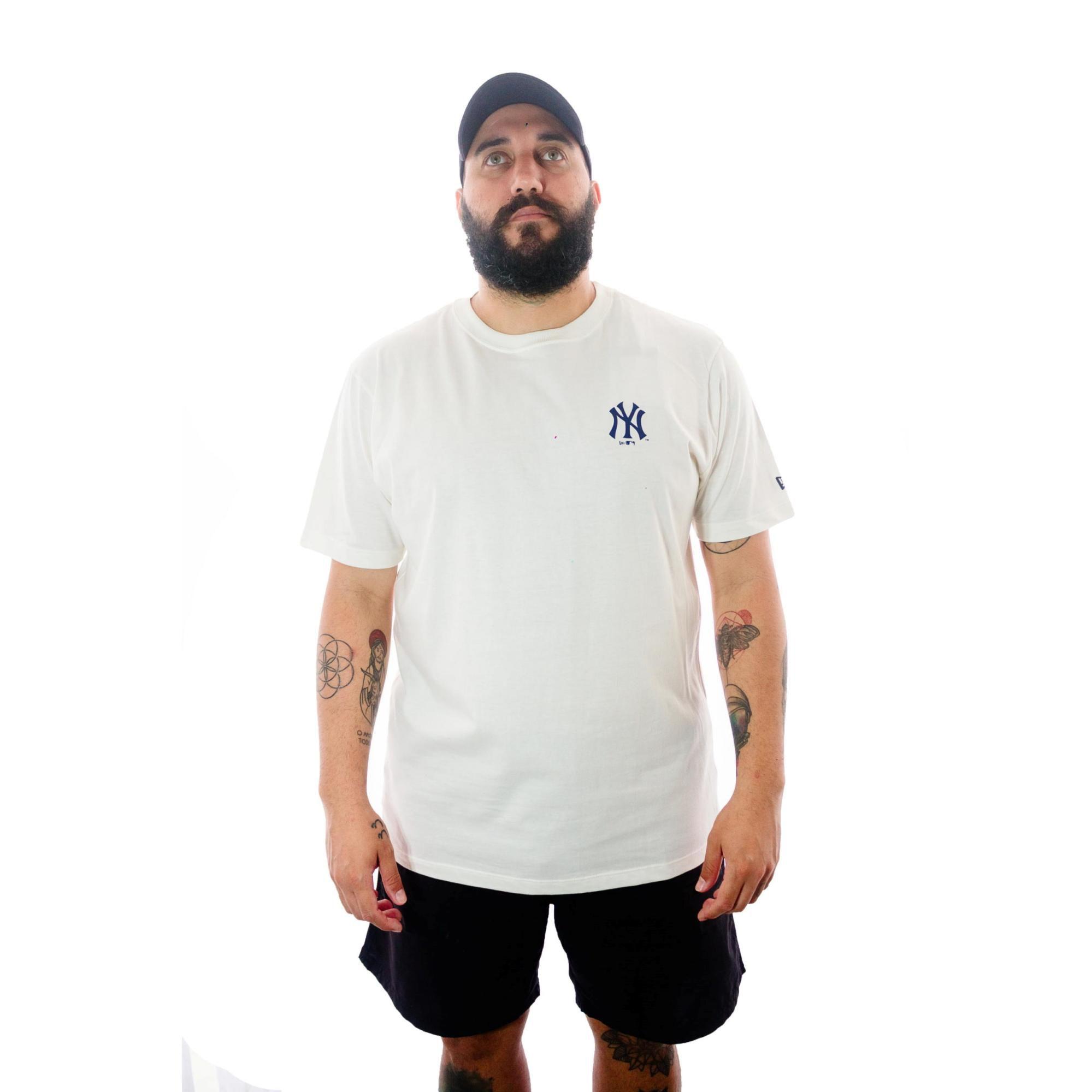 Camiseta New Era NY Off White