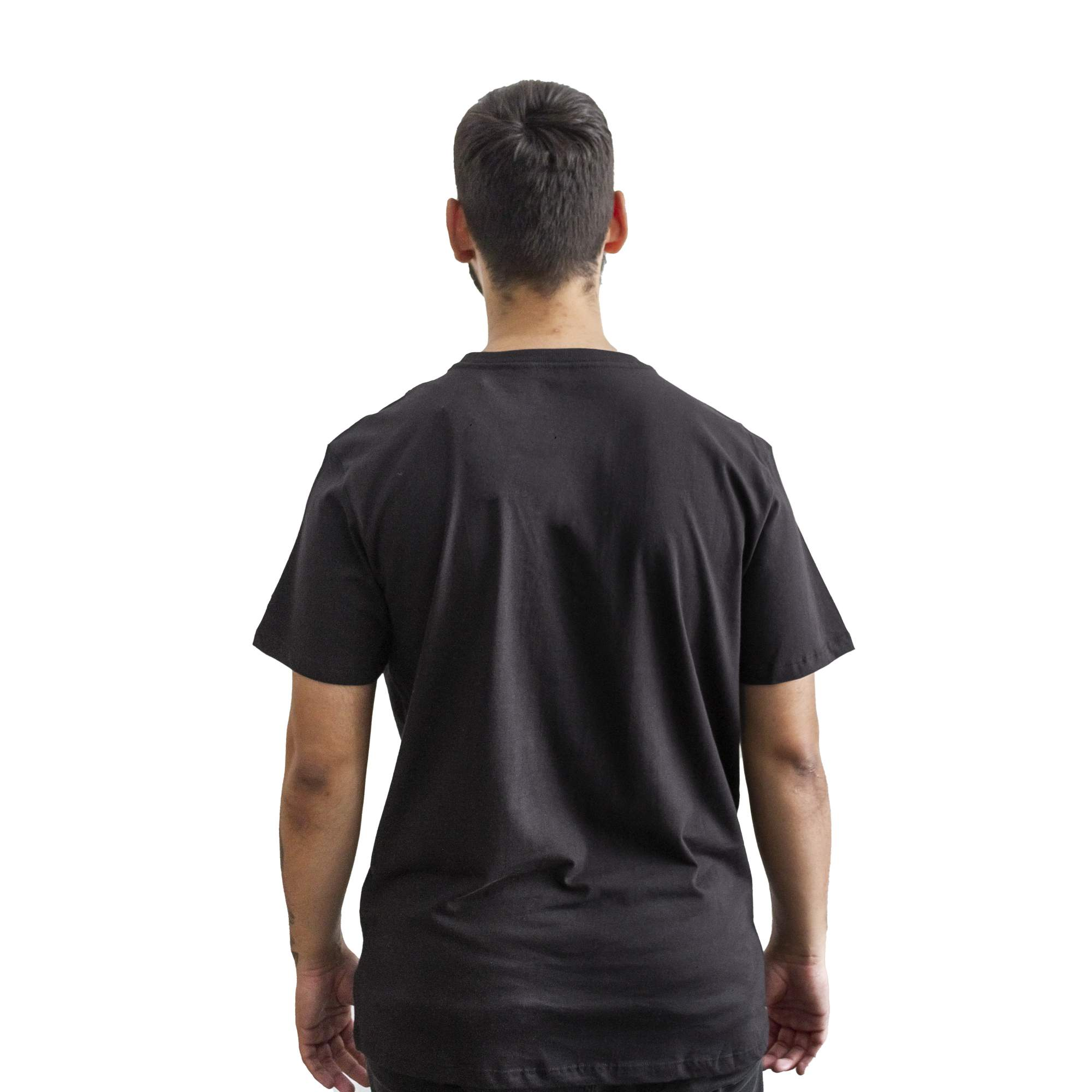 Camiseta New Era NYC Preto/Rosa