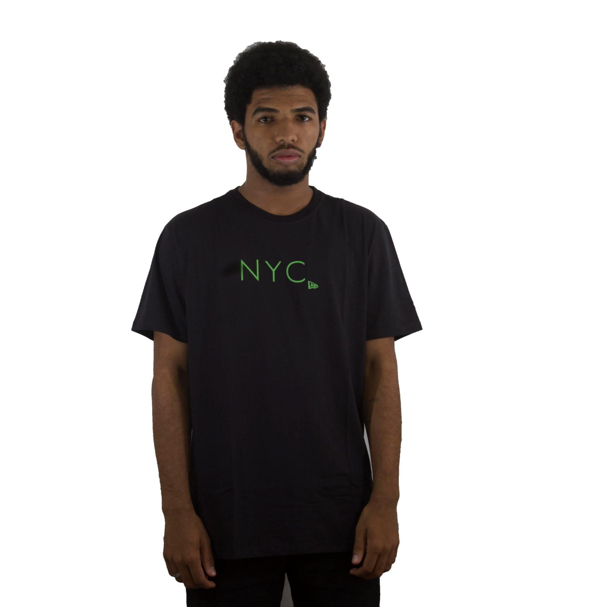 Camiseta New Era NYC Preto/Verde