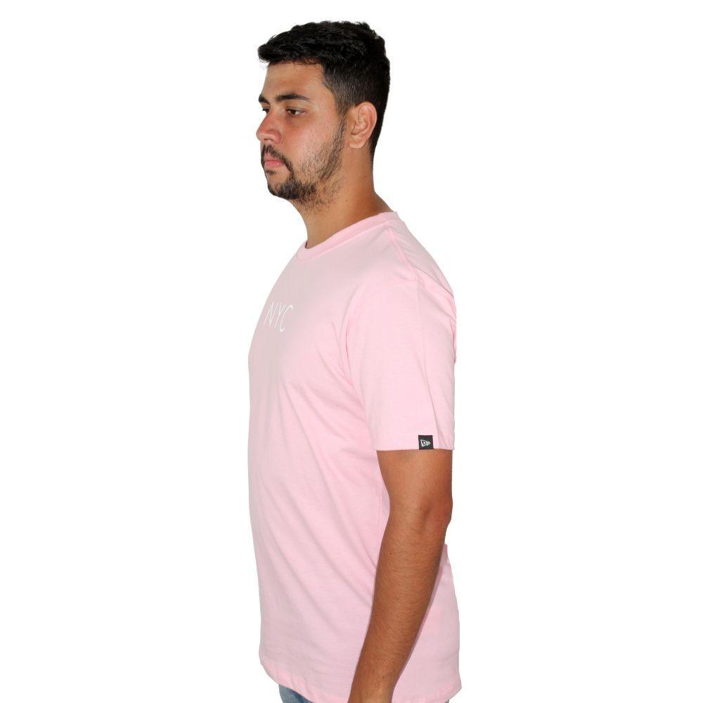 Camiseta New Era NYC Rosa
