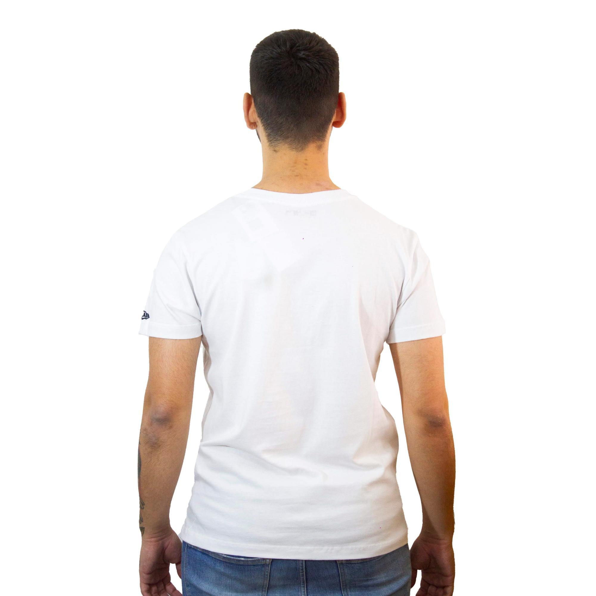 Camiseta New Era NYY Branca
