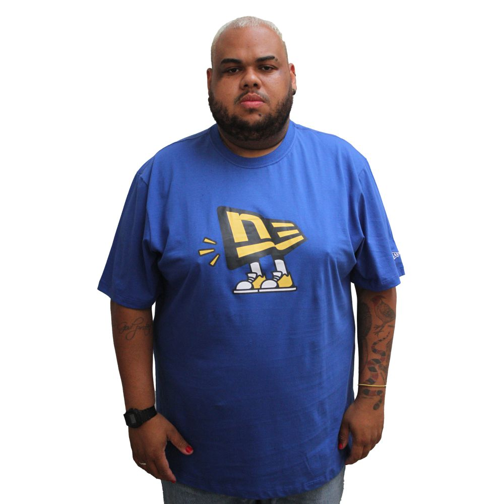 Camiseta New Era Plus Size Flagdude