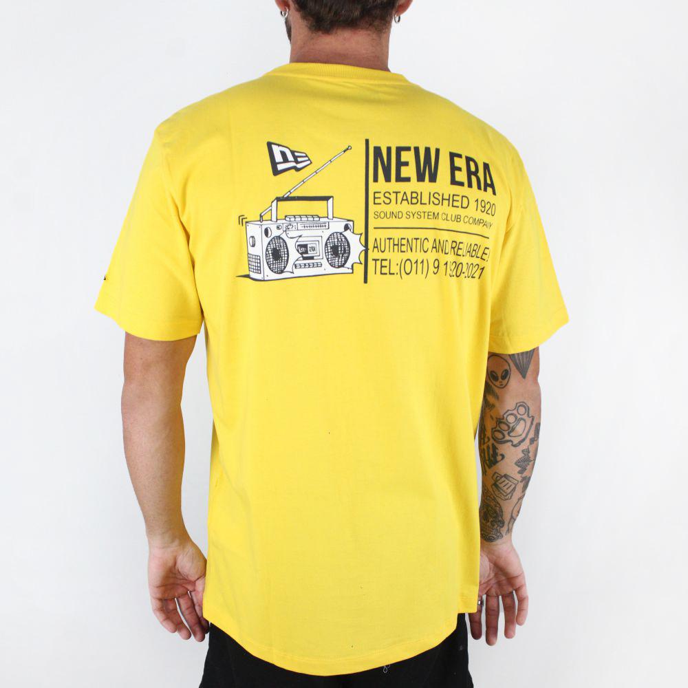 Camiseta New Era Street Soundclub