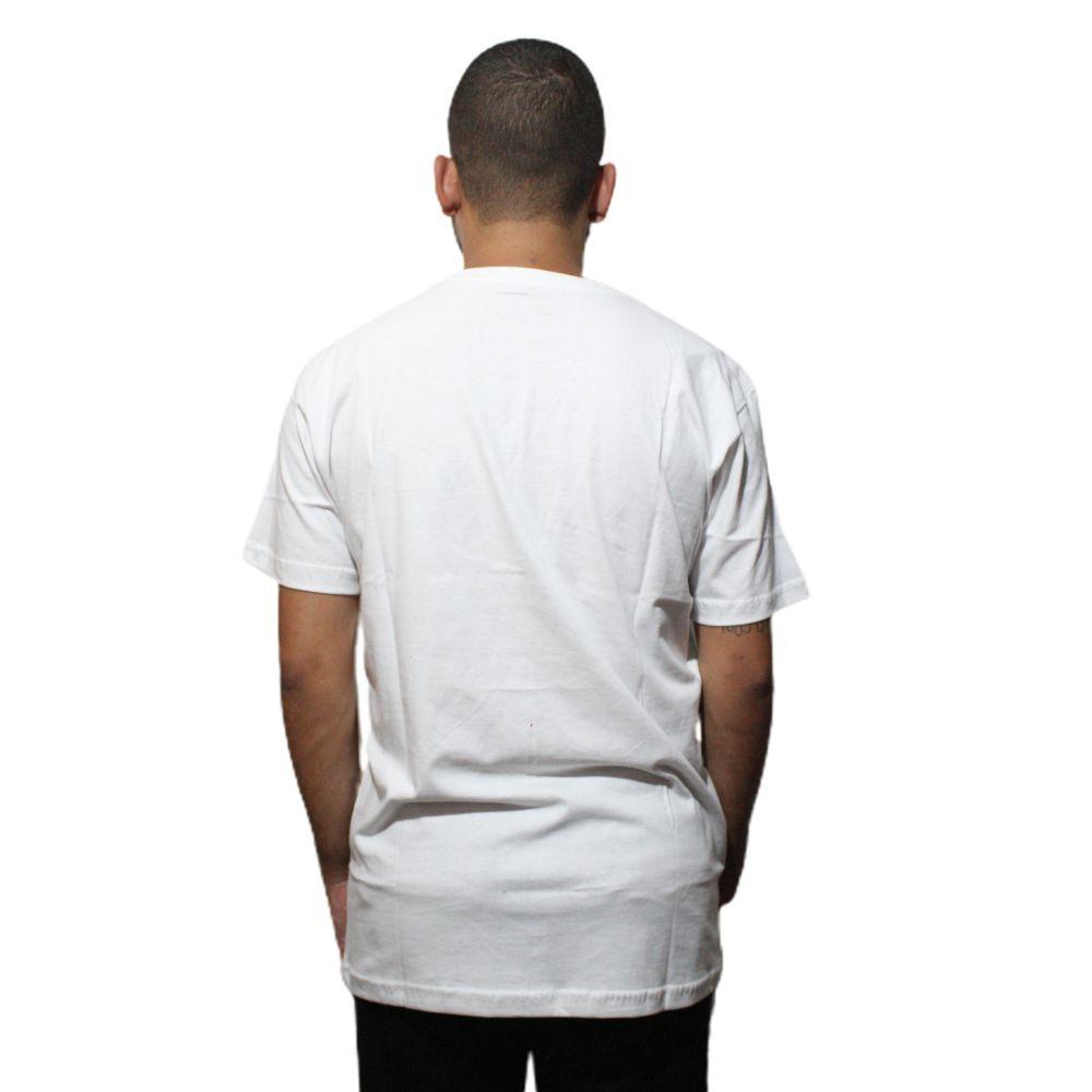 Camiseta New Era Time Starts Chicago Bulls Branco
