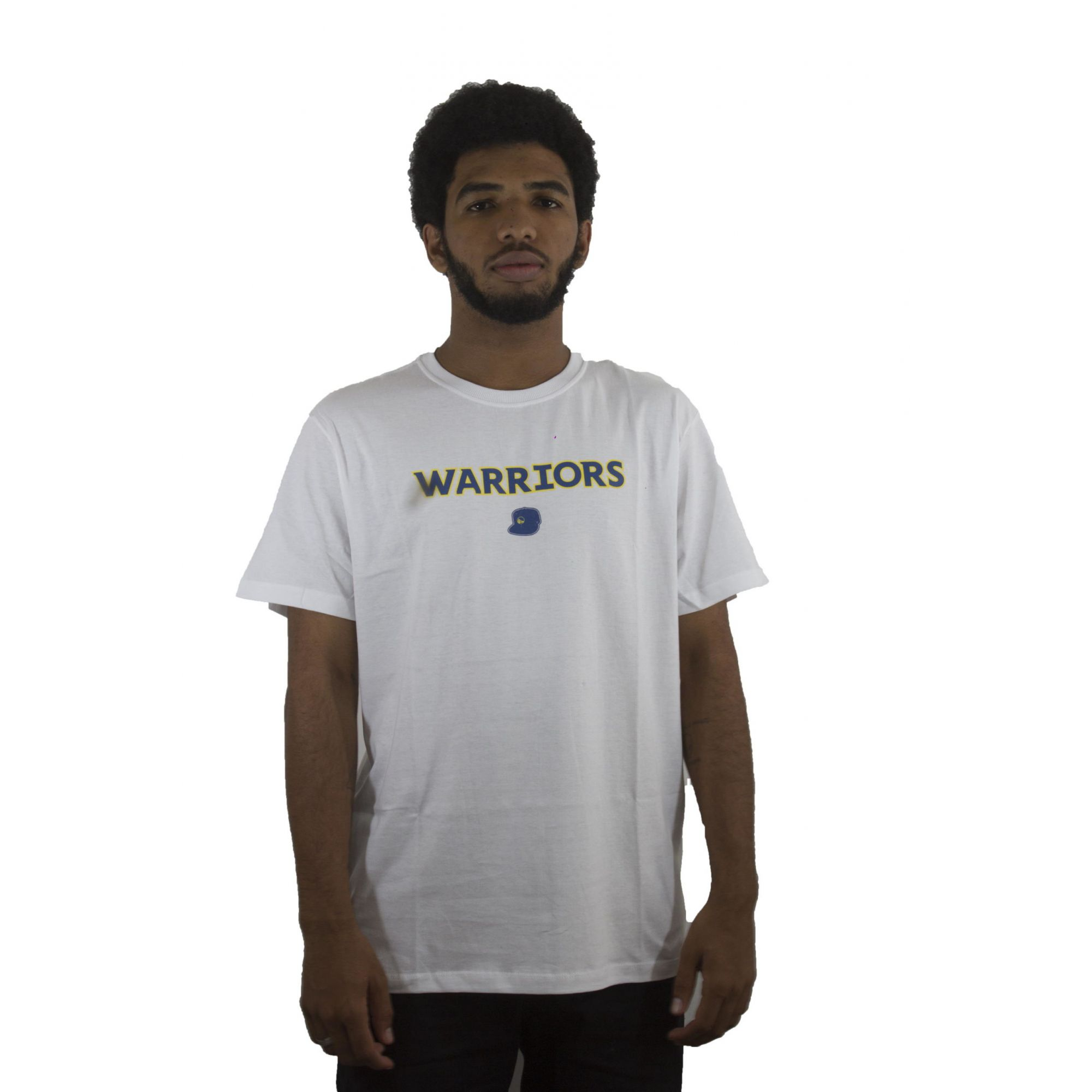 Camiseta New Era Warriors Branca