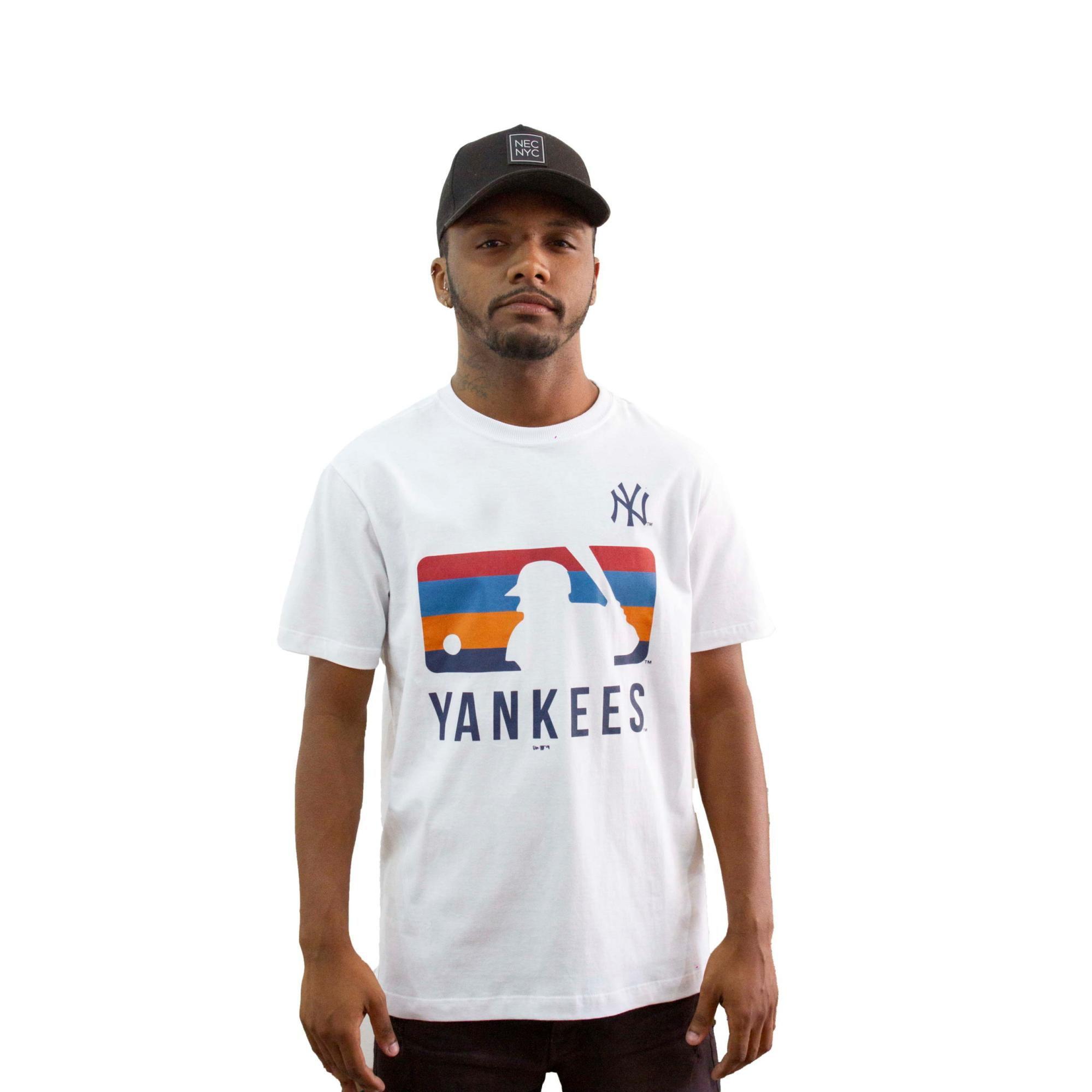 Camiseta New Era Yankees Branca