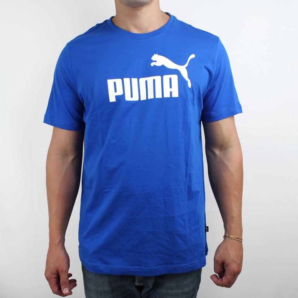 Camiseta Puma Logo Classic  Azul