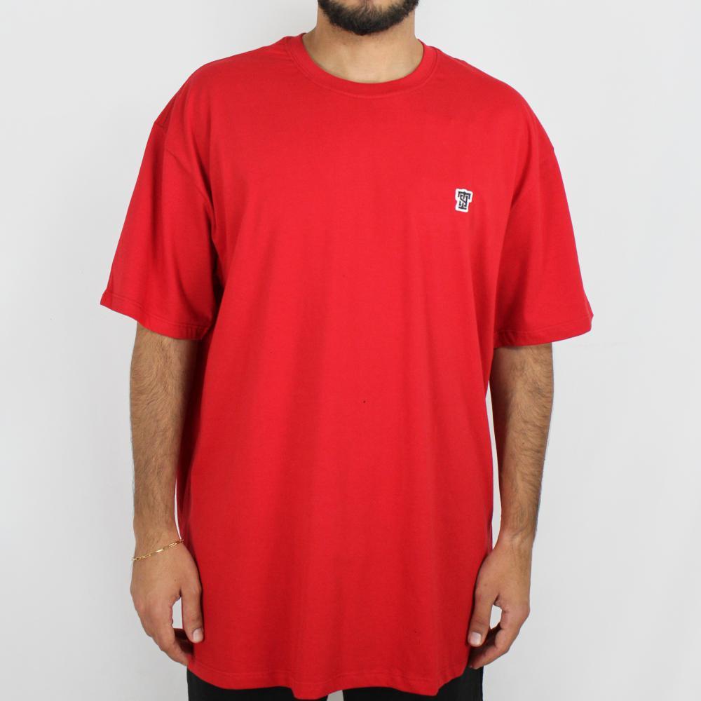 Camiseta Thug Nine Basic Vermelha