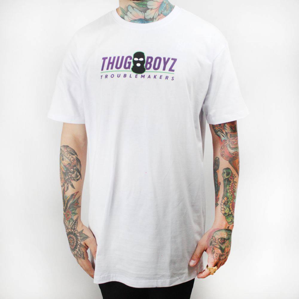 Camiseta Thug Nine Boyz Branca
