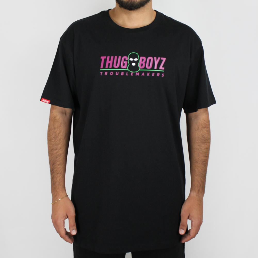 Camiseta Thug Nine Boyz Preta