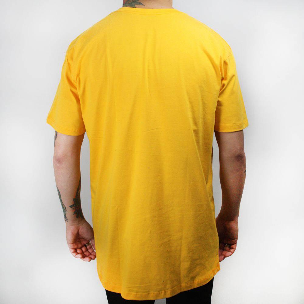 Camiseta Thug Nine Icy Amarela