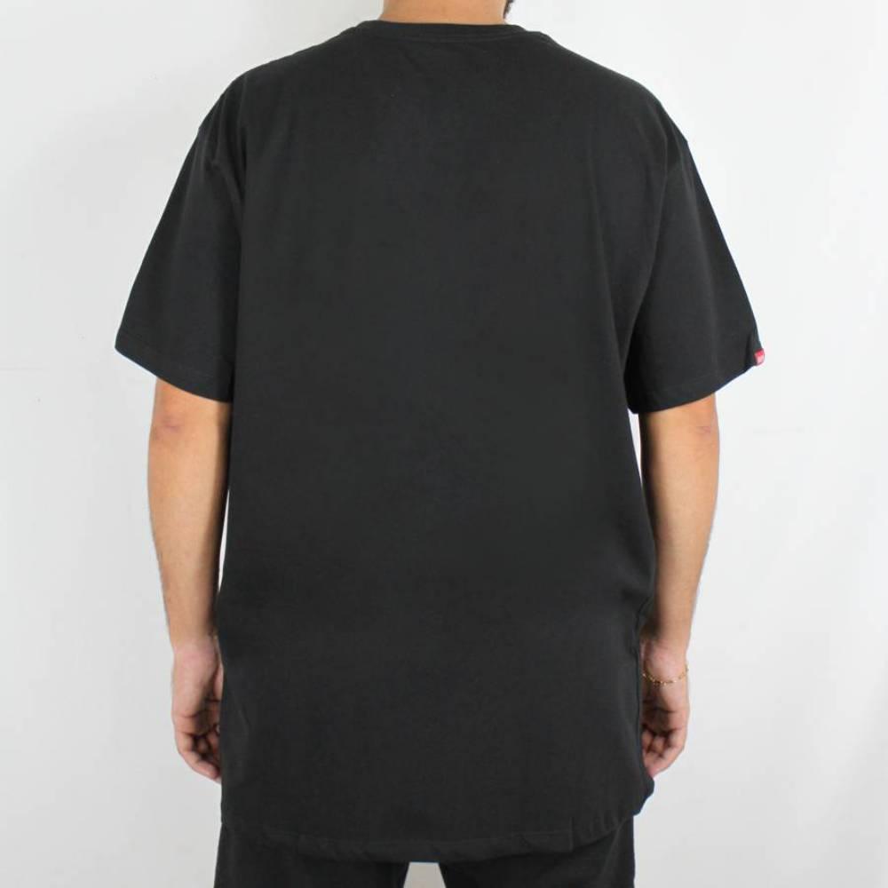 Camiseta Thug Nine Icy Preta