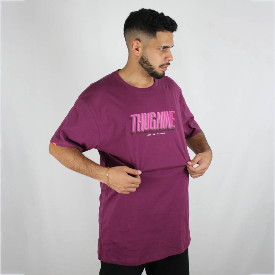 Camiseta Thug Nine Layer Roxa