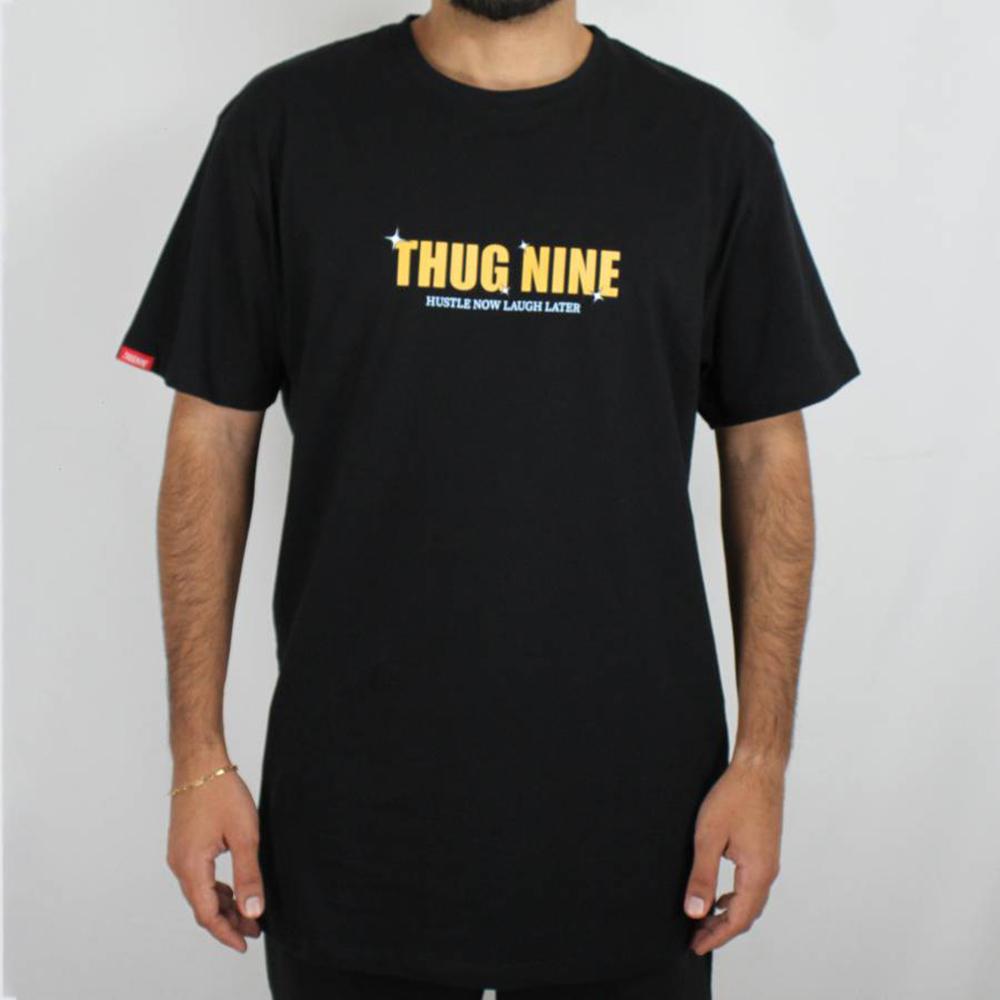 Camiseta Thug Nine Your Future Preta