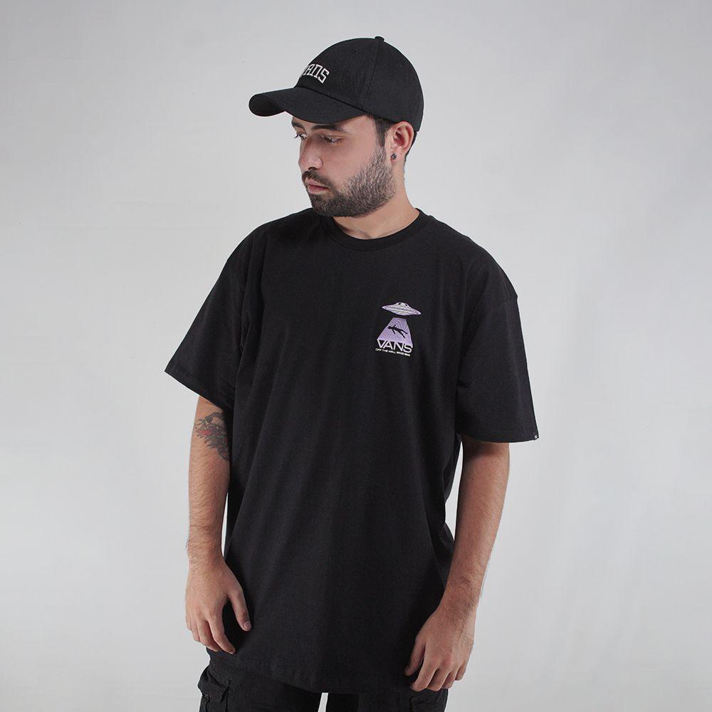 Camiseta Vans Area 66 Preto