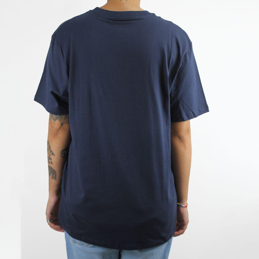 Camiseta Vans Authentic Checker Marinho